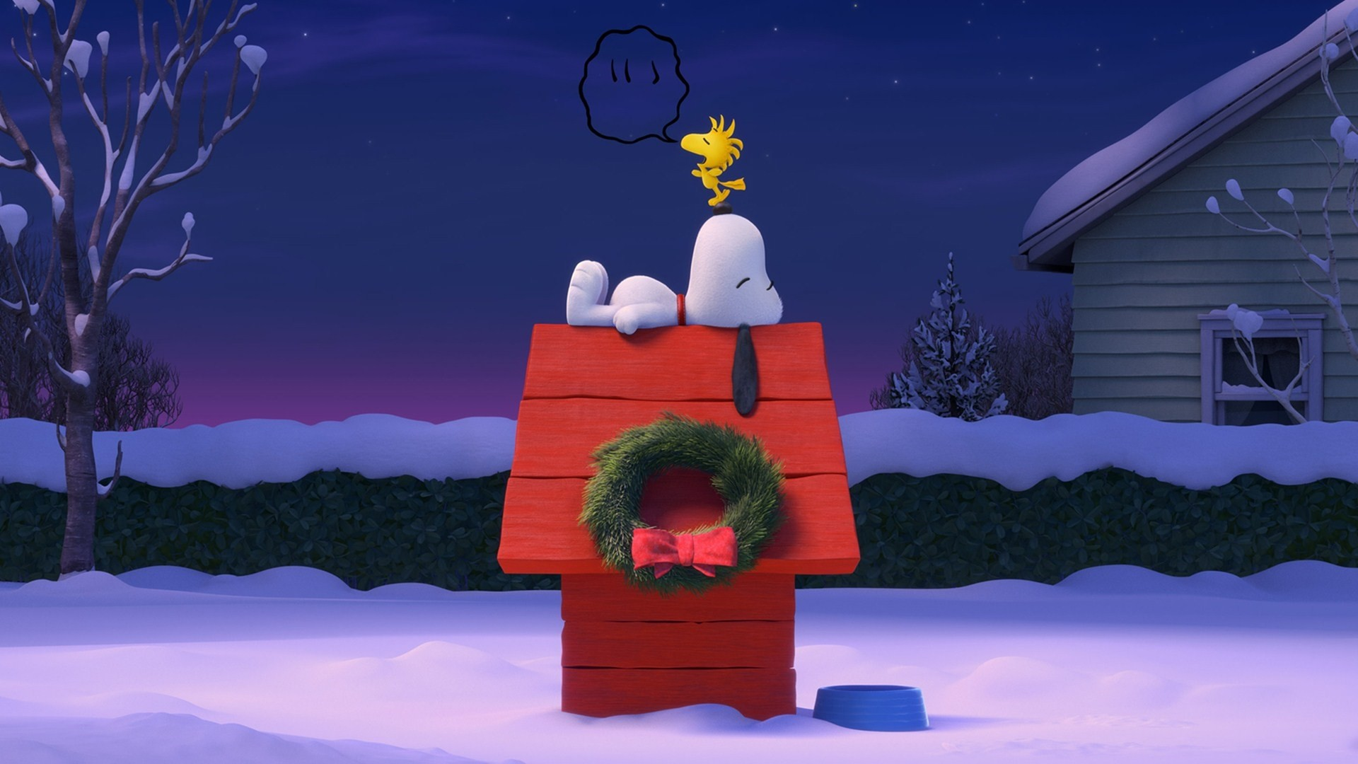 1920x1080 ... Desktop Snoopy Christmas Wallpaper Snoopy Background ...