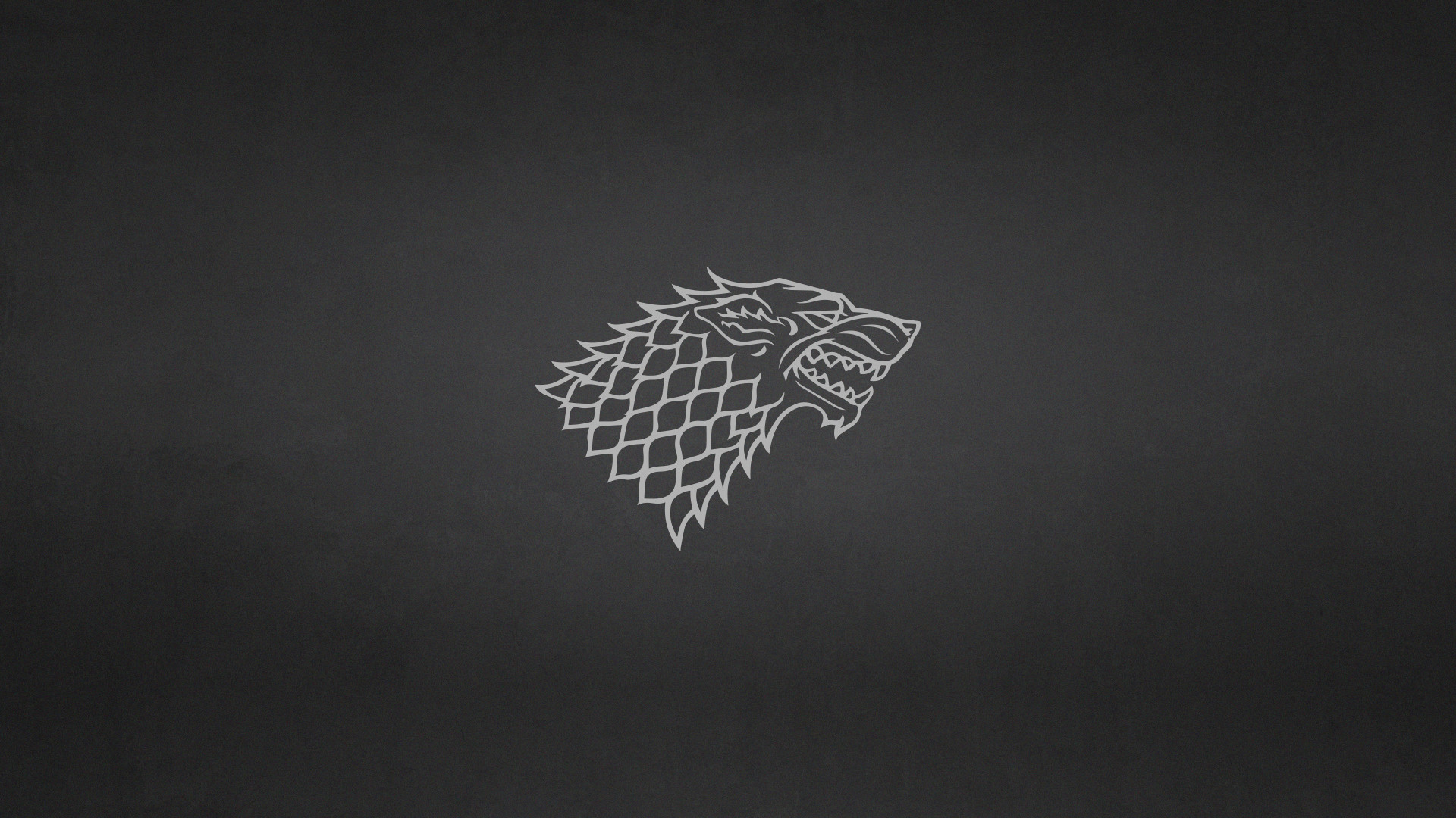 1920x1080 ... Game of Thrones: House Stark Minimalist Wallpaper by elbarnzo