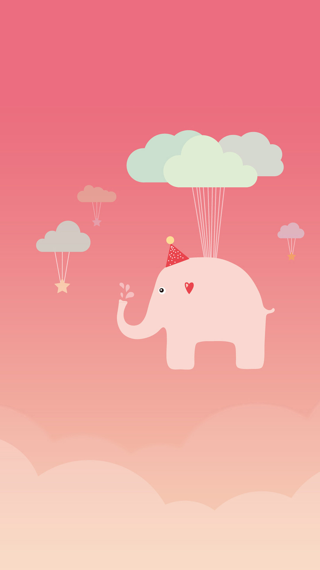 1080x1920 Cute Elephant iPhone 6 Wallpaper Download | iPhone Wallpapers, iPad .