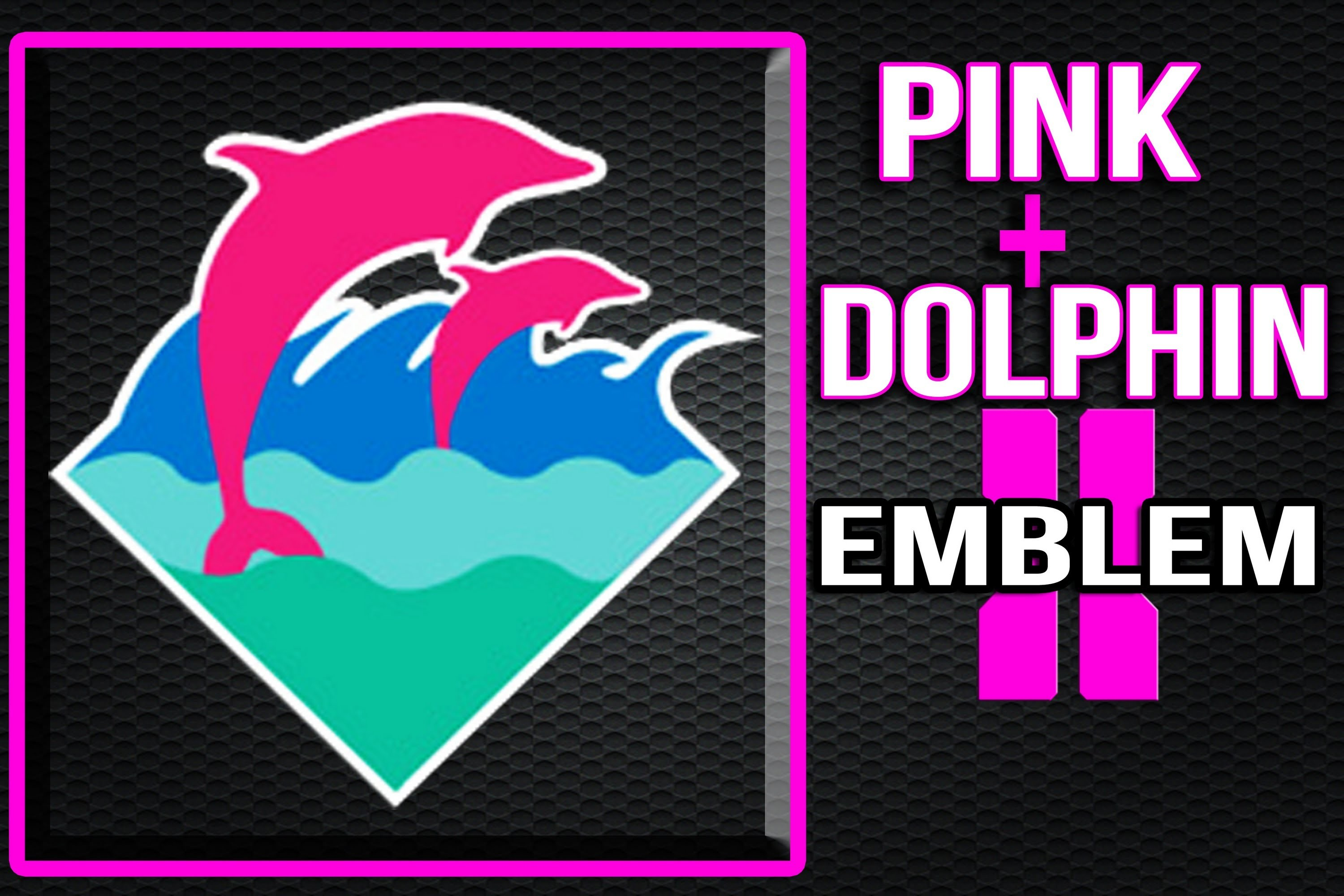 3000x2000 Pink dolphin clothing logo - photo#17