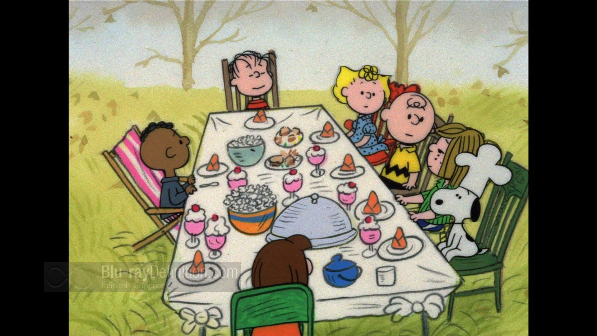1920x1080 ... Charlie Brown Thanksgiving Desktop Wallpaper