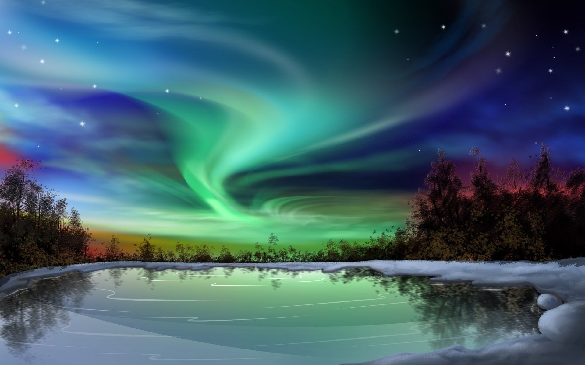 Aurora Borealis Hd Wallpaper 80 Images