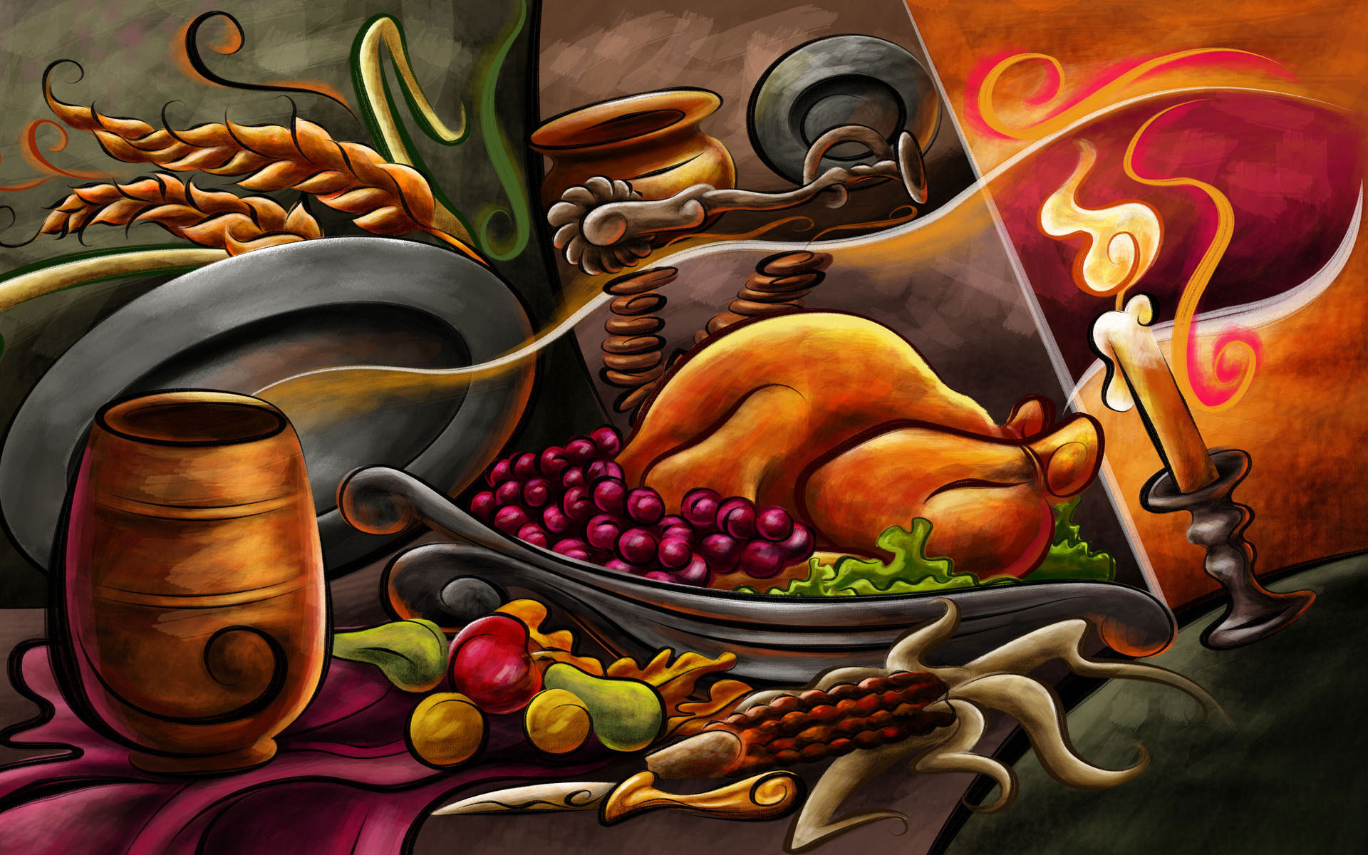 1920x1200 Thanksgiving-Dinner-image-holiday-2012