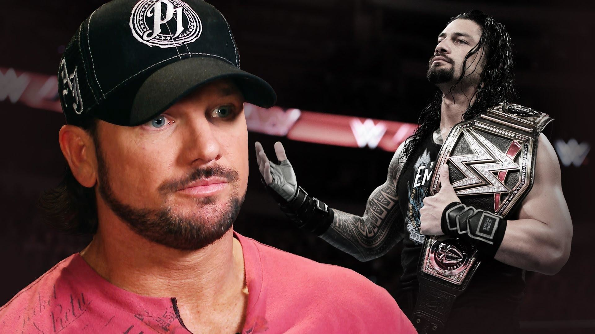 1920x1080 wallpaper.wiki-AJ-Styles-VS-Roman-Reigns-Wallpapers-HD-Pictures -PIC-WPC0013886