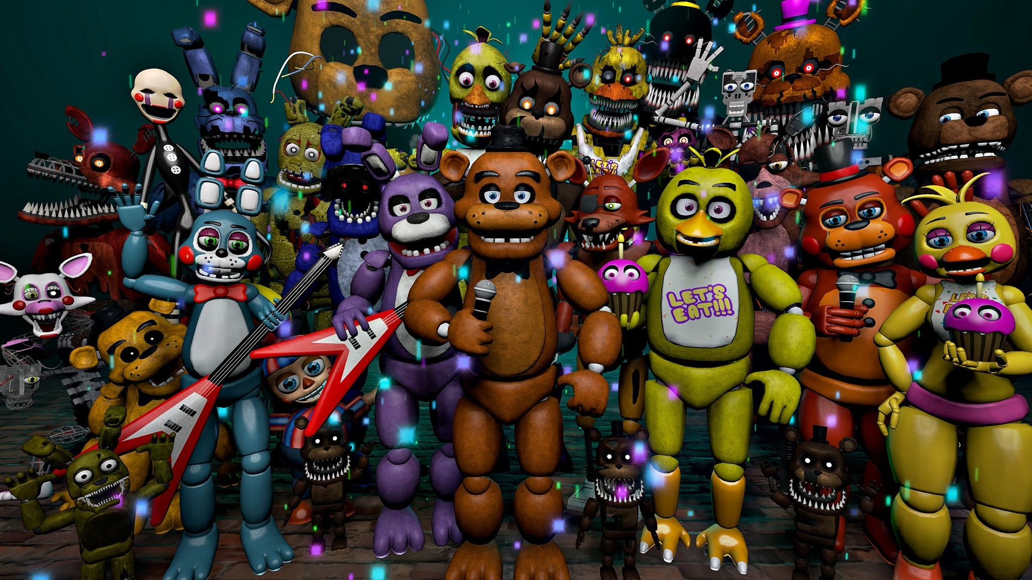 Fnaf all characters