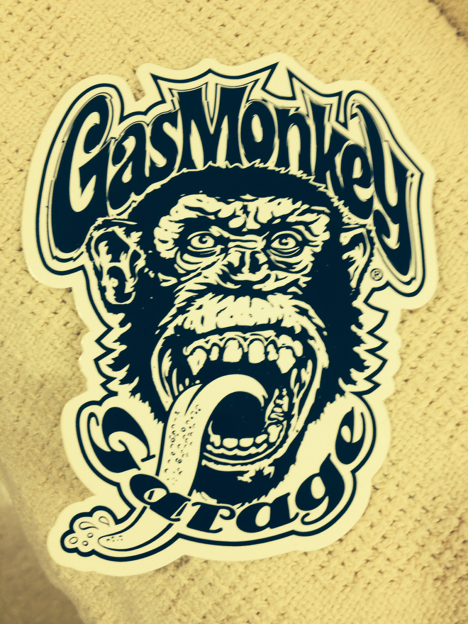 Gas Monkey Garage Logo...