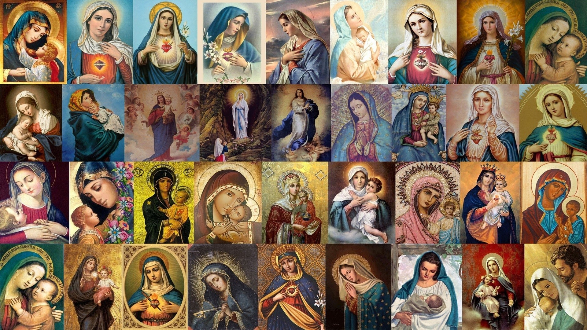 Wallpapers Of Mother Mary 55 Images