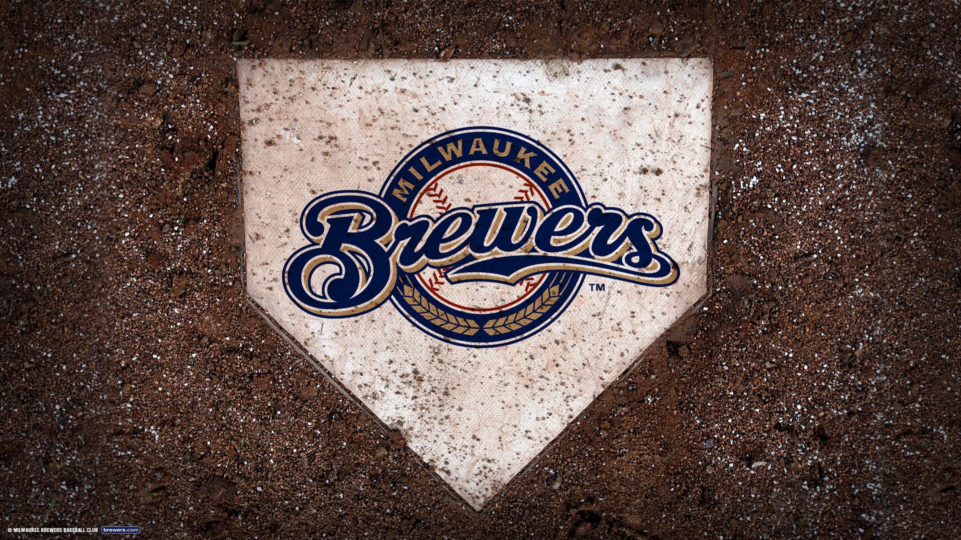 1920x1080 Widescreen Wallpapers: Brewers Logo, (, V.43) - KB.