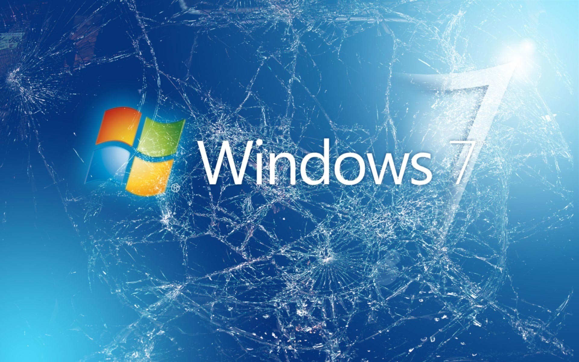 1920x1200 Windows 7 Broken Wallpapers Picture
