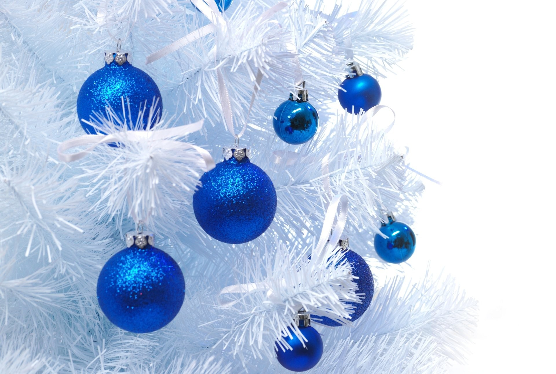 1920x1294 Wallpaper Christmas White And Blue
