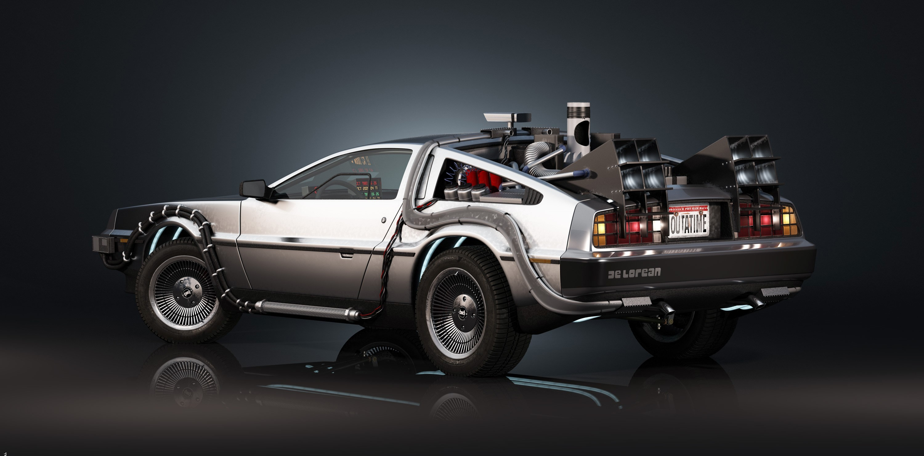 3000x1480  free wallpaper and screensavers for back to the future