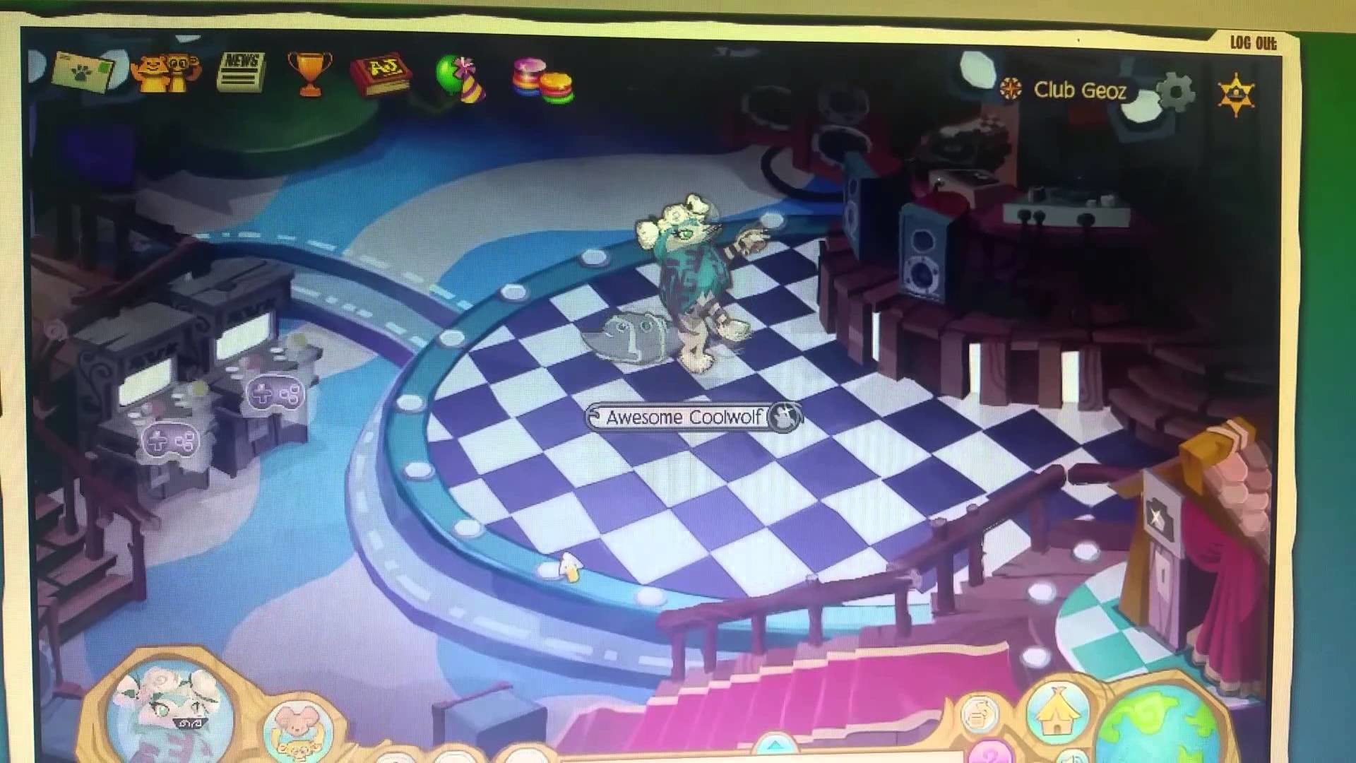 1920x1080 How to do the Arctic wolf dance animaljam