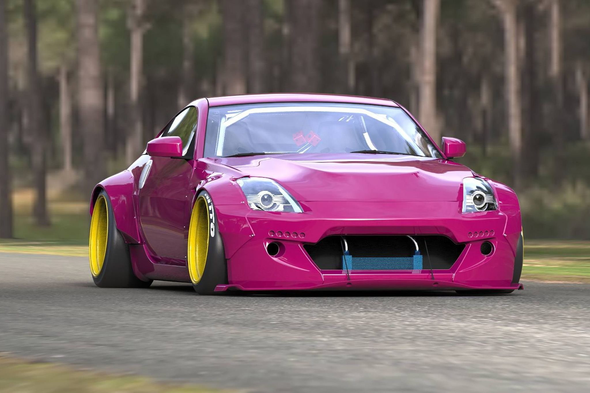 2048x1365 Rocket Bunny 350Z nissan modified bodykit cars wallpaper |  |  669687 | WallpaperUP