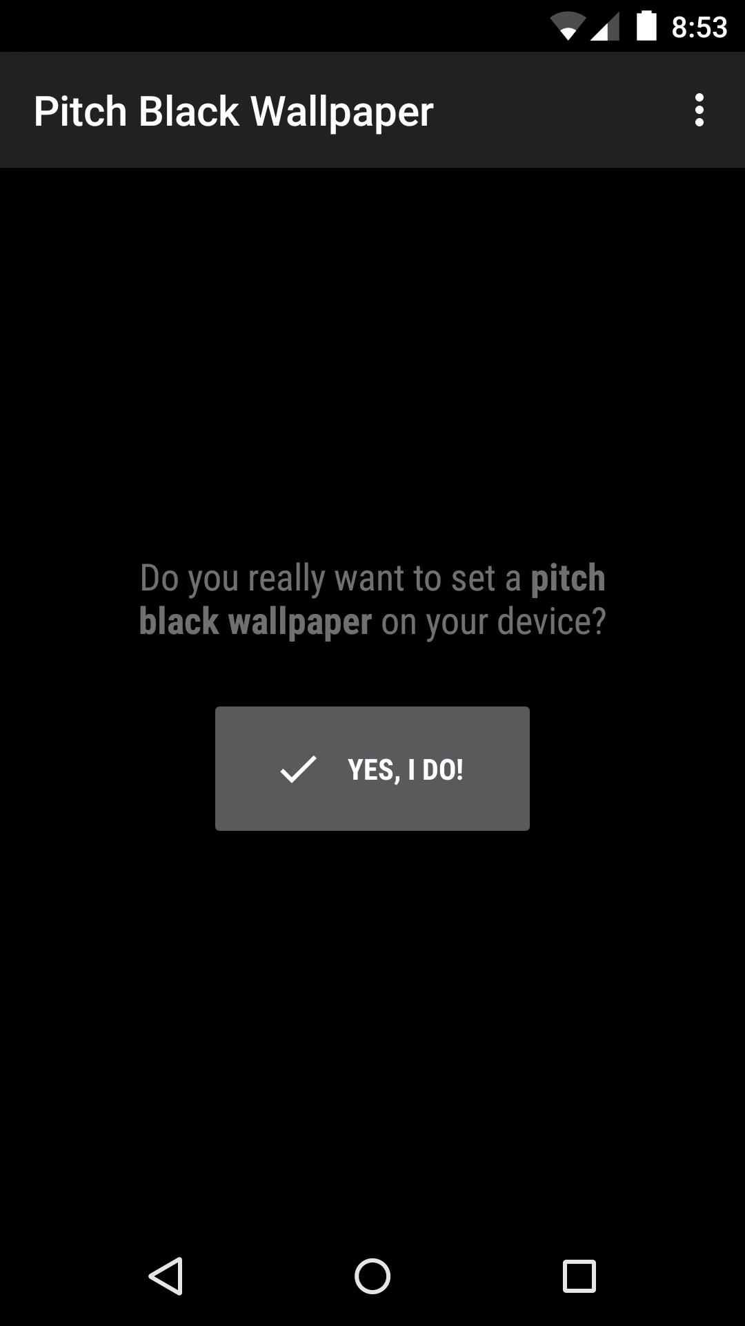 1080x1920 It's possible to update the information on Pitch Black Wallpaper or report  it as discontinued, duplicated or spam.