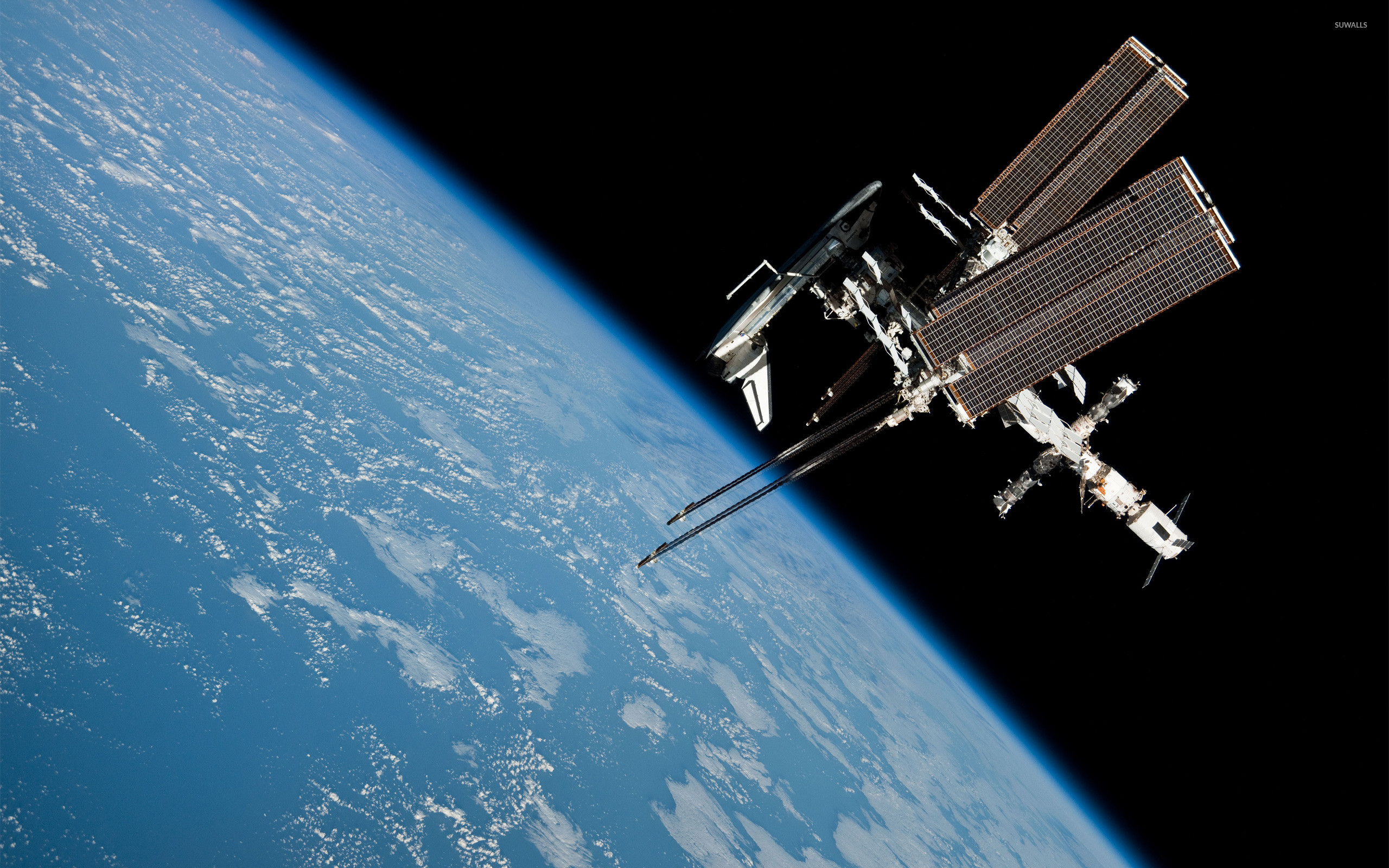2560x1600 International Space Station [4] wallpaper  jpg