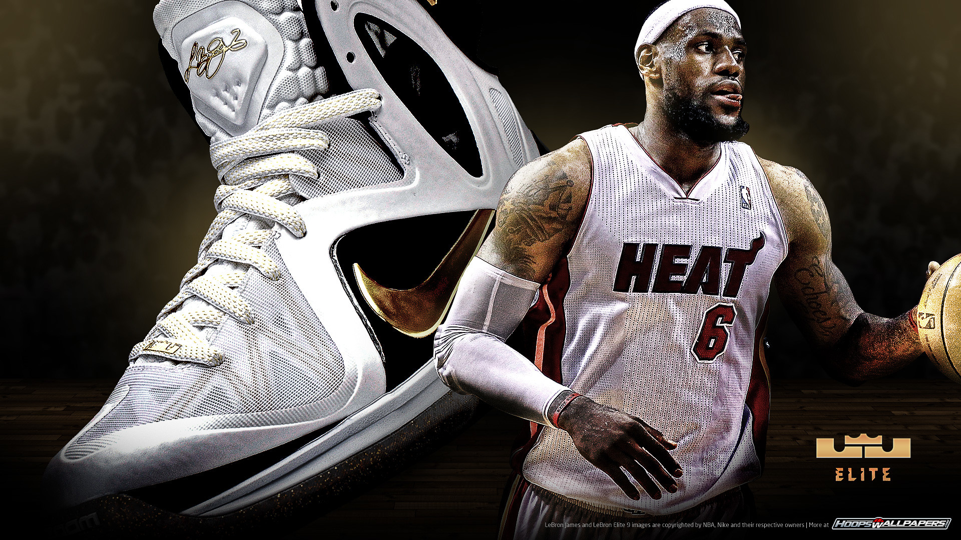 1920x1080 LeBron 2012 wallpaper