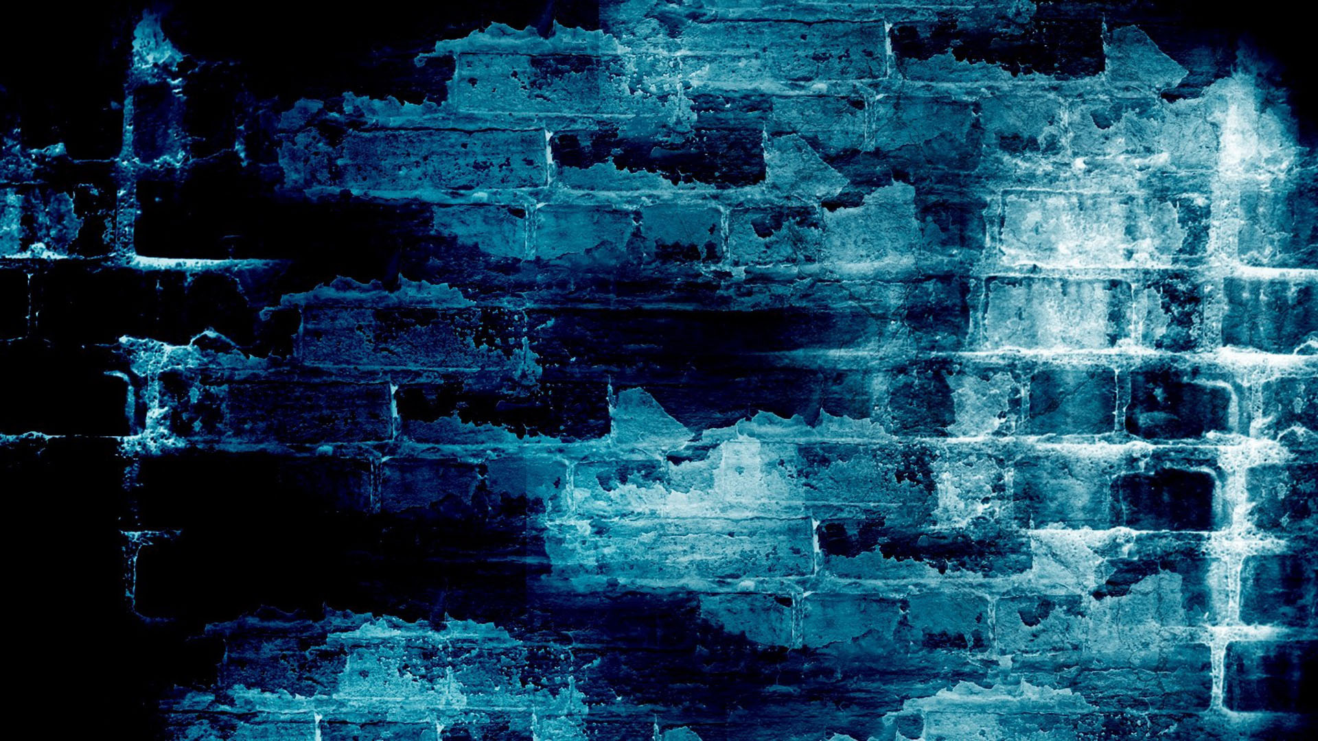 1920x1080 brick wallpaper blue - Wallpaper
