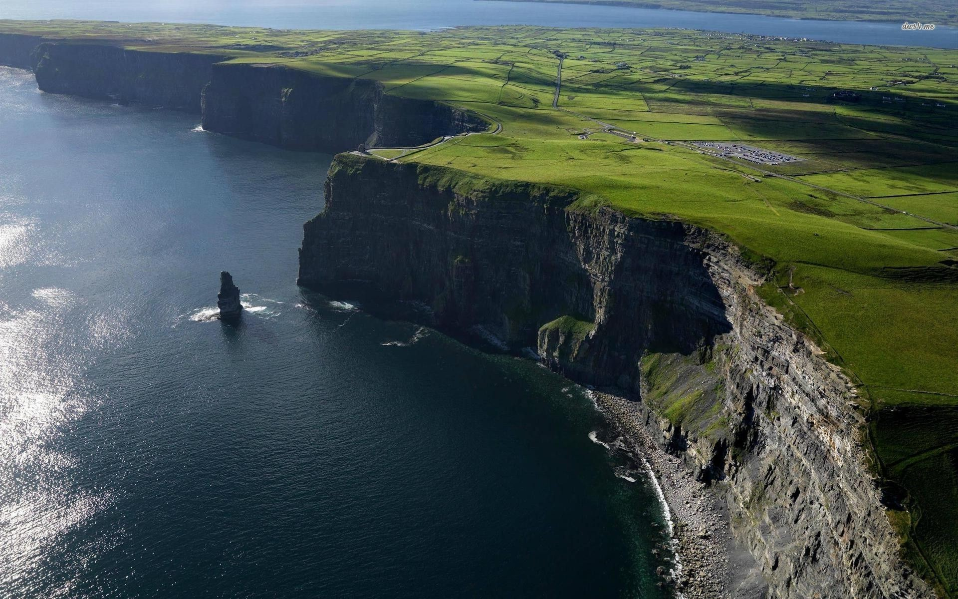 1920x1200 Cliffs of Moher HD wallpaper