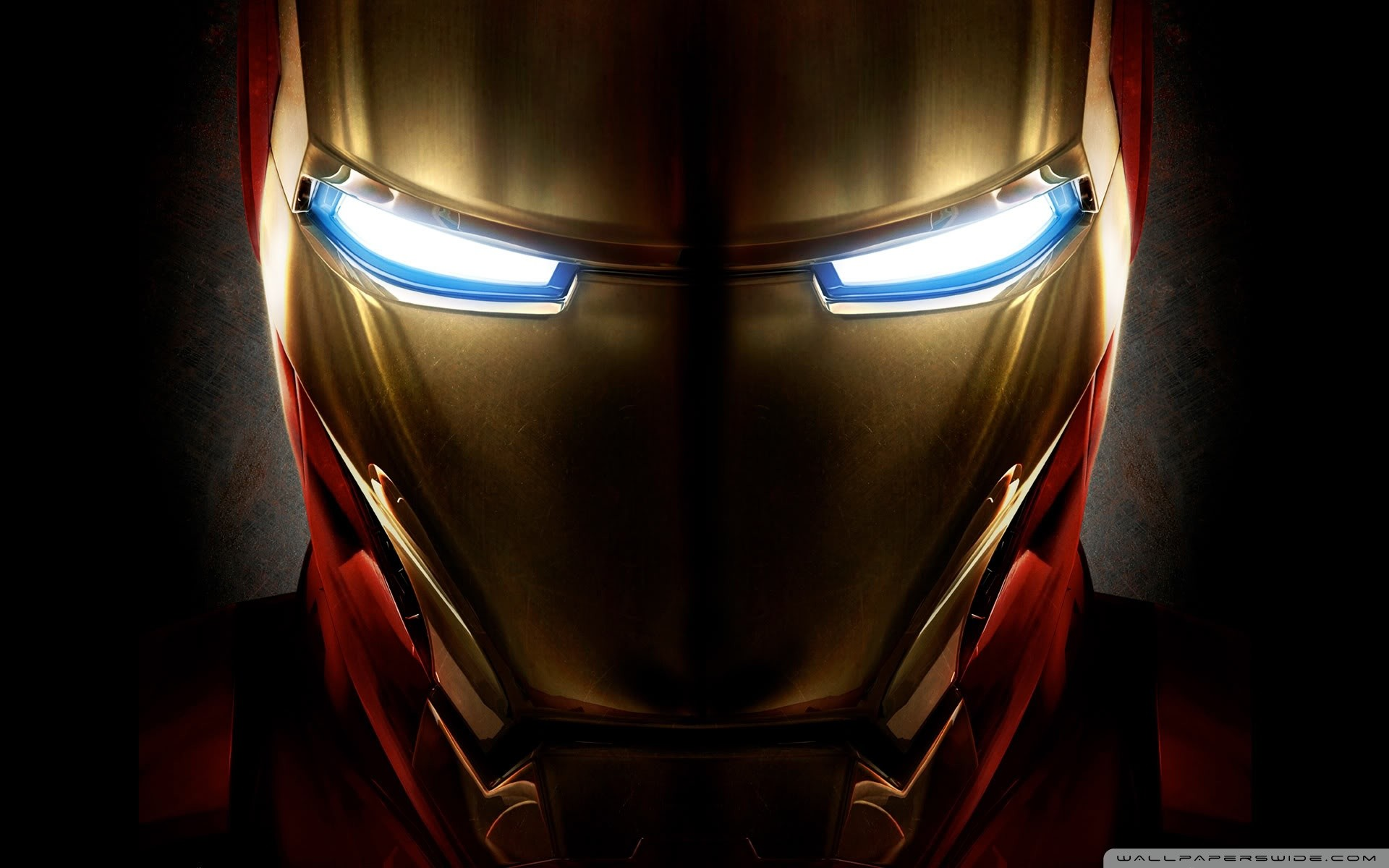 1920x1200 Iron Man Helmet HD Wide Wallpaper for Widescreen