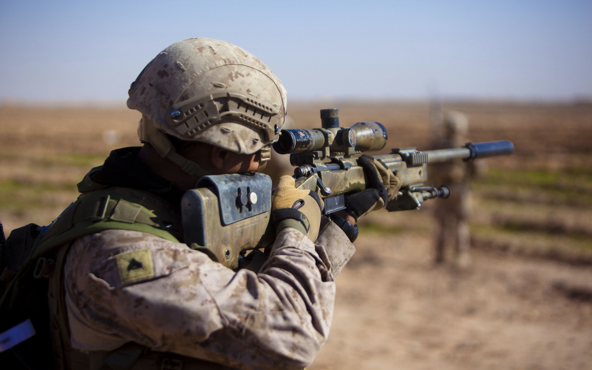 1920x1200 Wallpaper united states marine corps, soldiers, weapons wallpapers men .