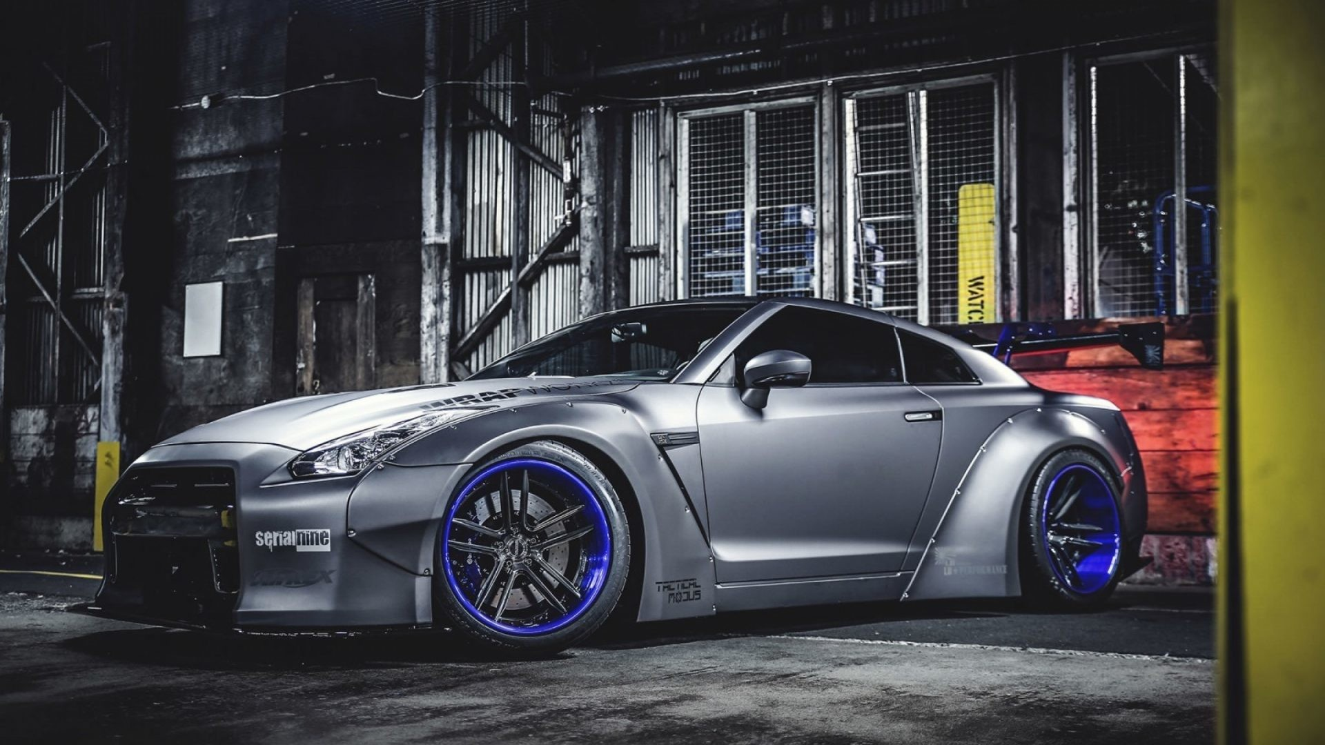 1920x1080 Nissan GTR Liberty Walk Tuning 4k HD Wallpaper