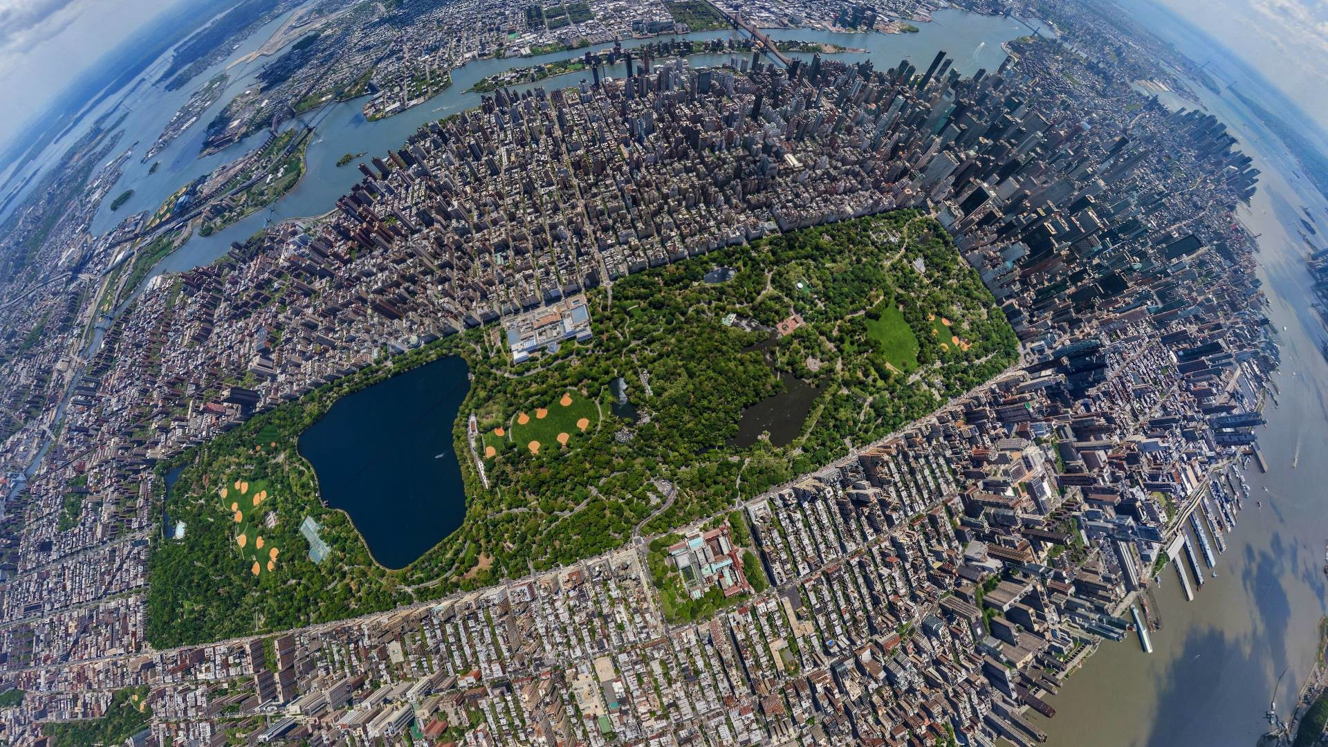 1920x1080 Central Park Aerial View Desktop Wallpaper 49786