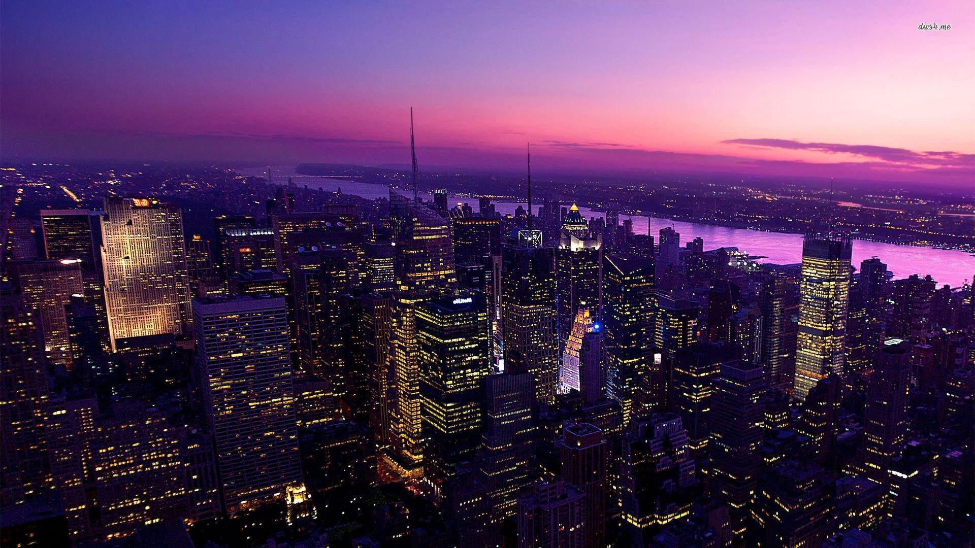 New York At Night Wallpaper 67 Images