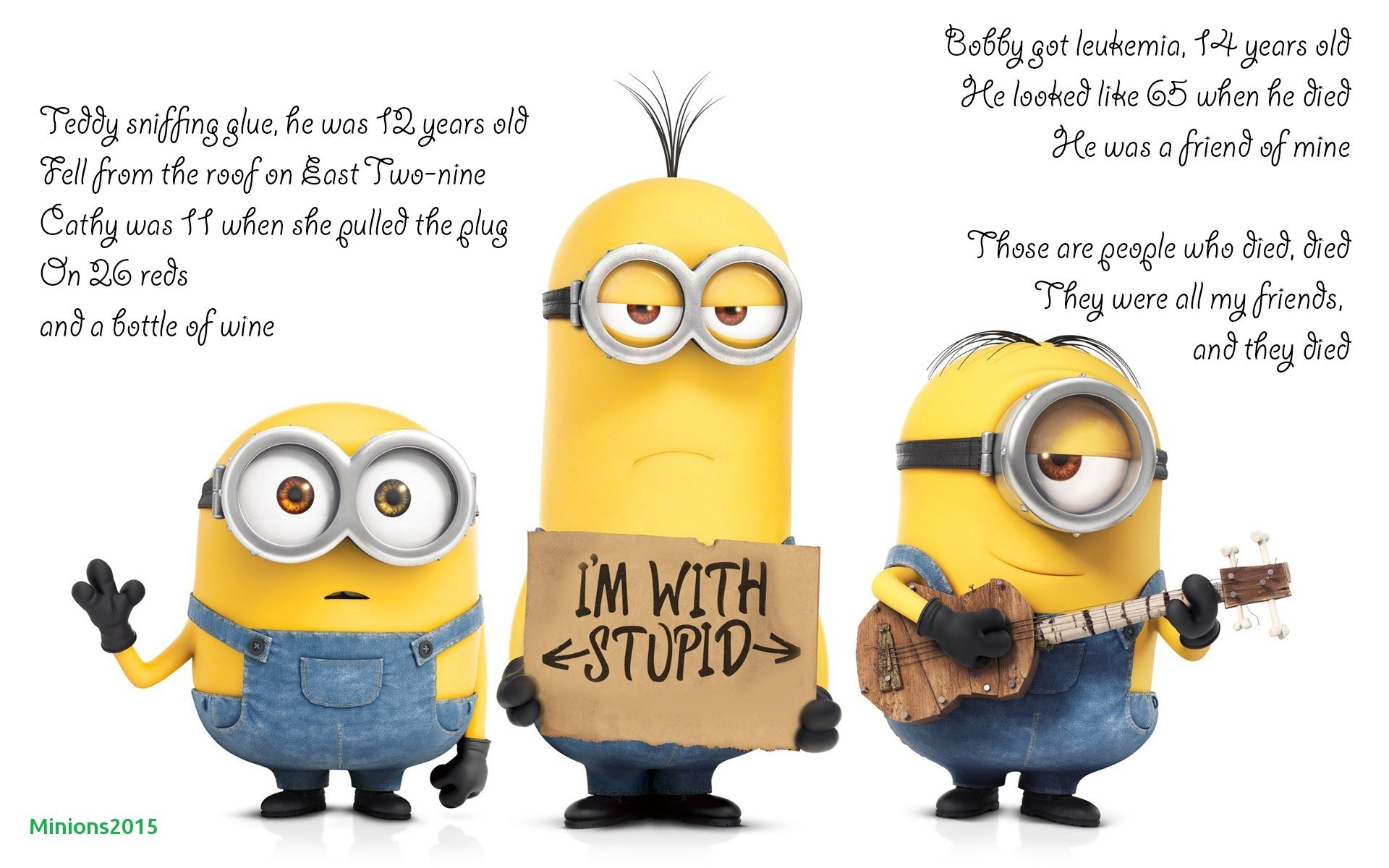 Minions Fan Wallpaper Sayings (62+ images)