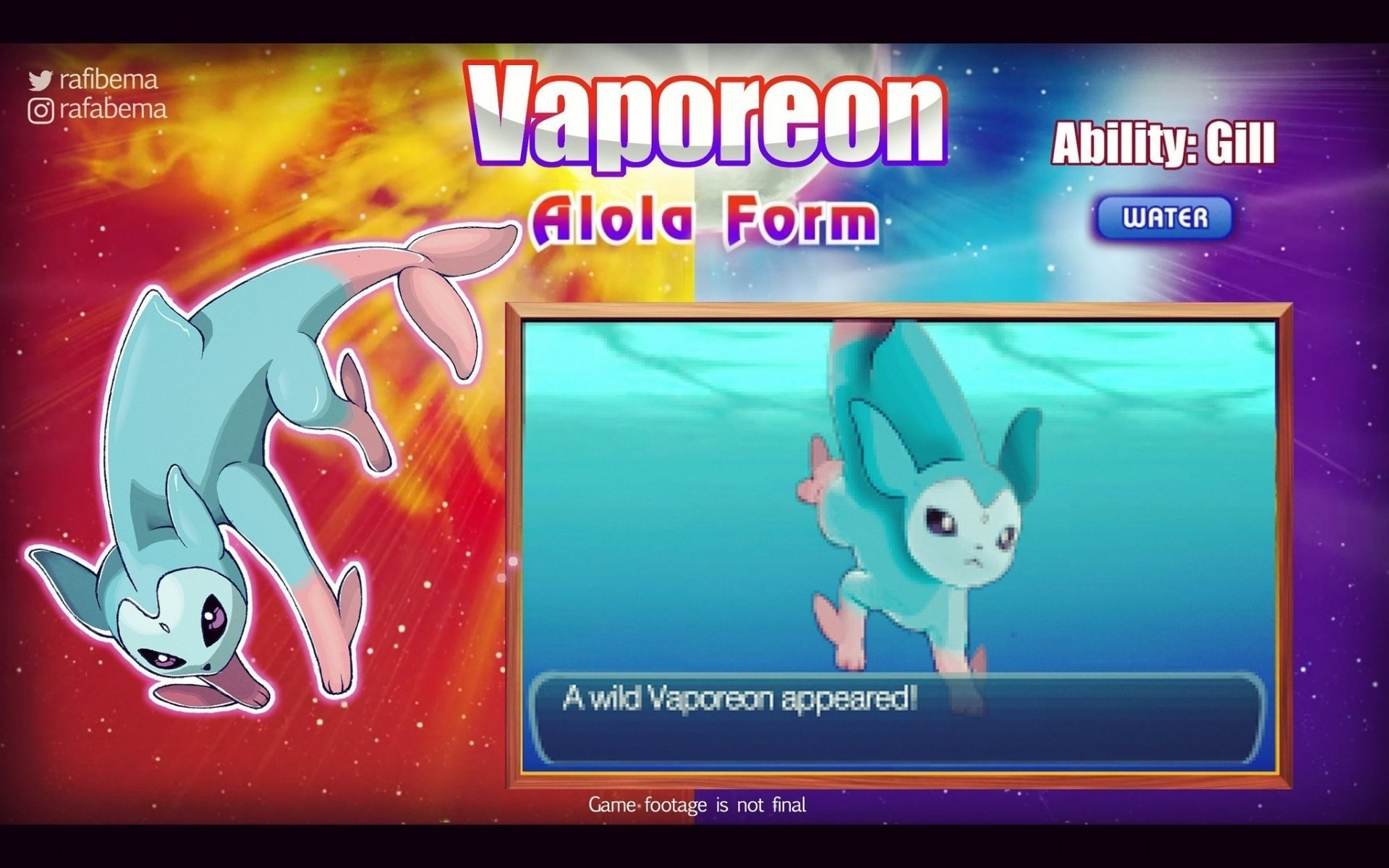 1920x1200 Pokemon Sun And Moon Vaporeon Alola Form Wallpapers HD for Mobile Free  Download