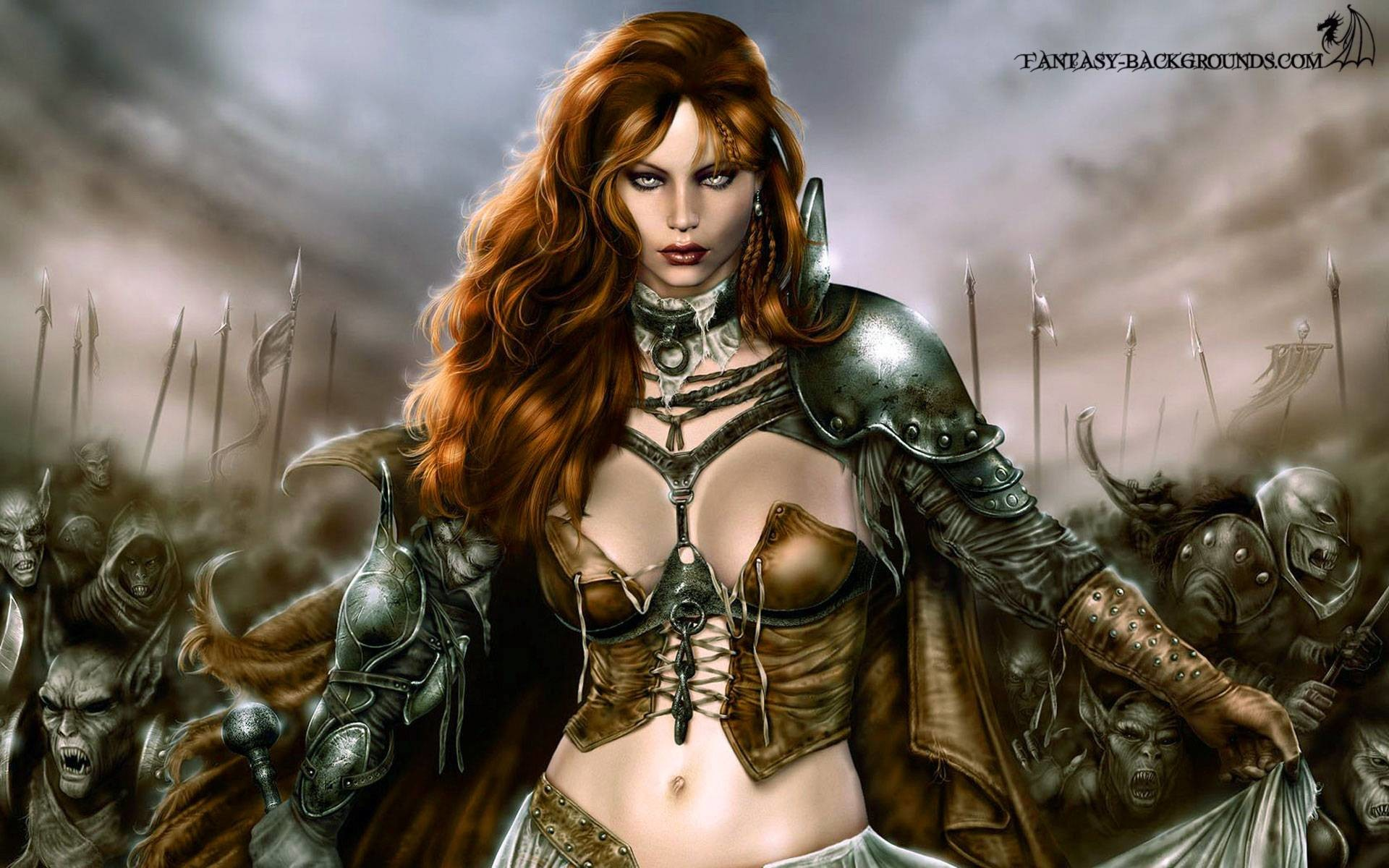 1920x1200 Women Warrior Full HD Wallpaper and Background x ID