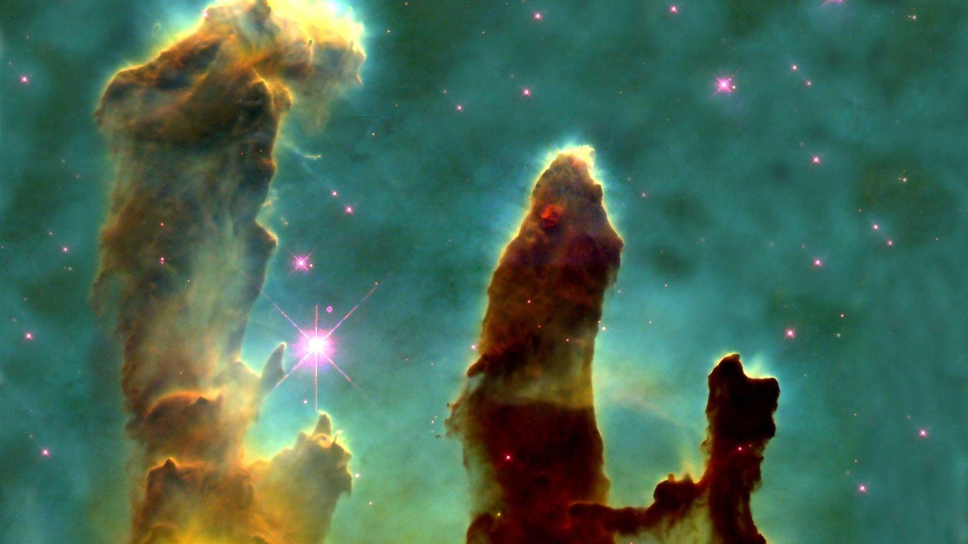 1920x1080 Hubble Deep Field Wallpaper