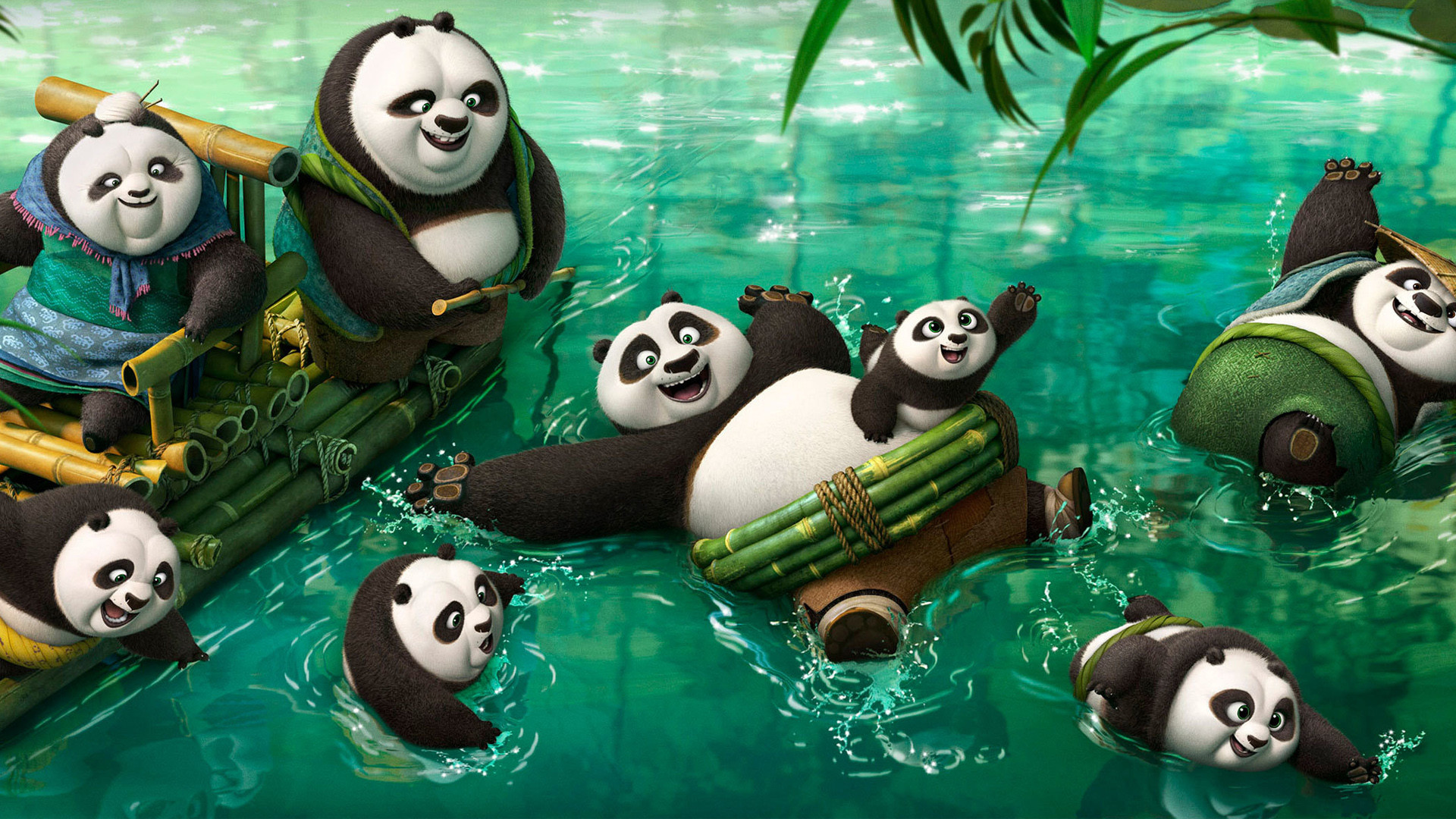 1920x1080 Kung fu Panda 3 New Pandas Wallpapers | HD Wallpapers