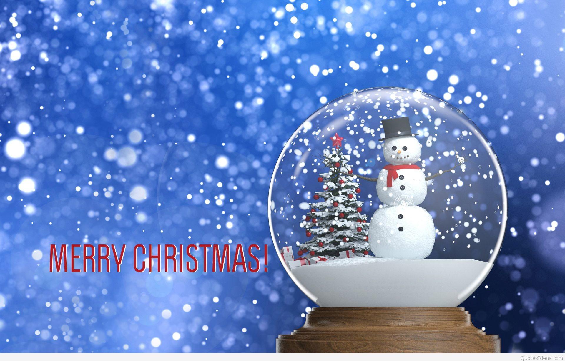 1920x1227 Cute Merry Christmas Wallpaper HD