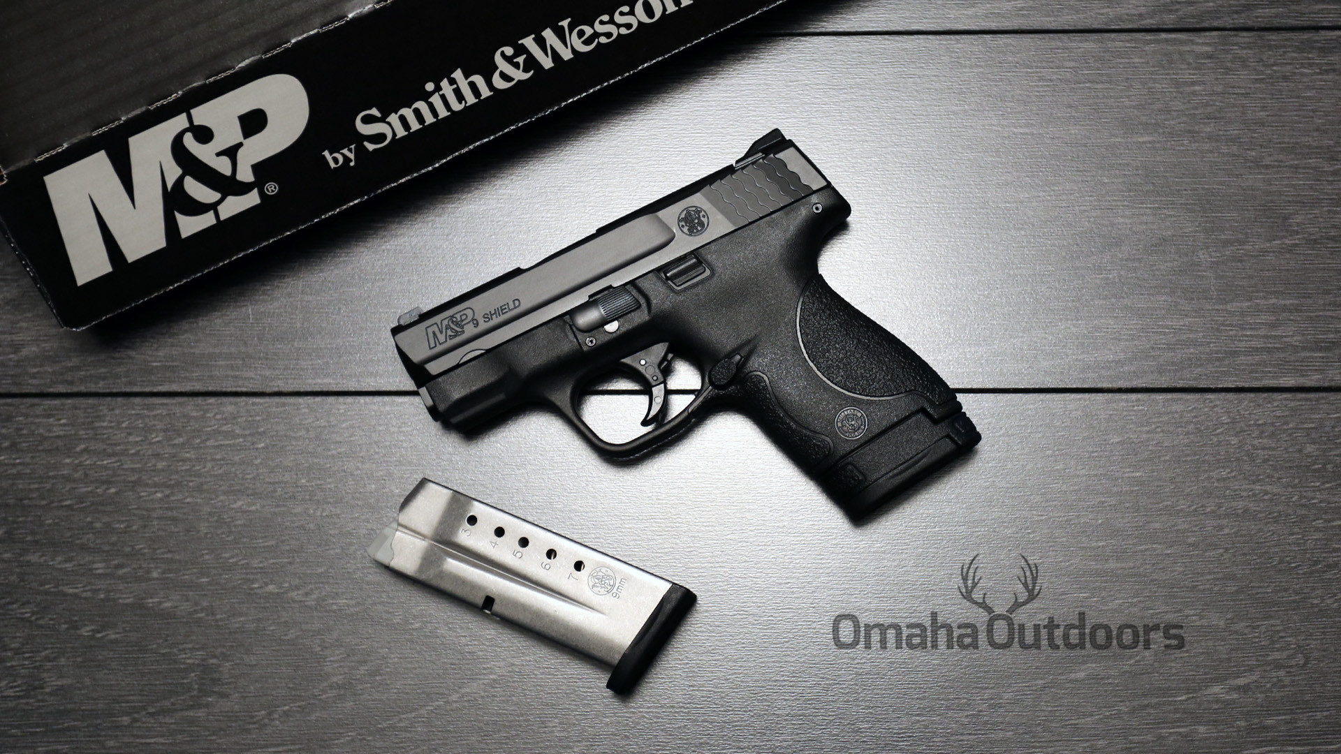 1920x1080 S&W M&P Shield 9mm No Thumb Safety