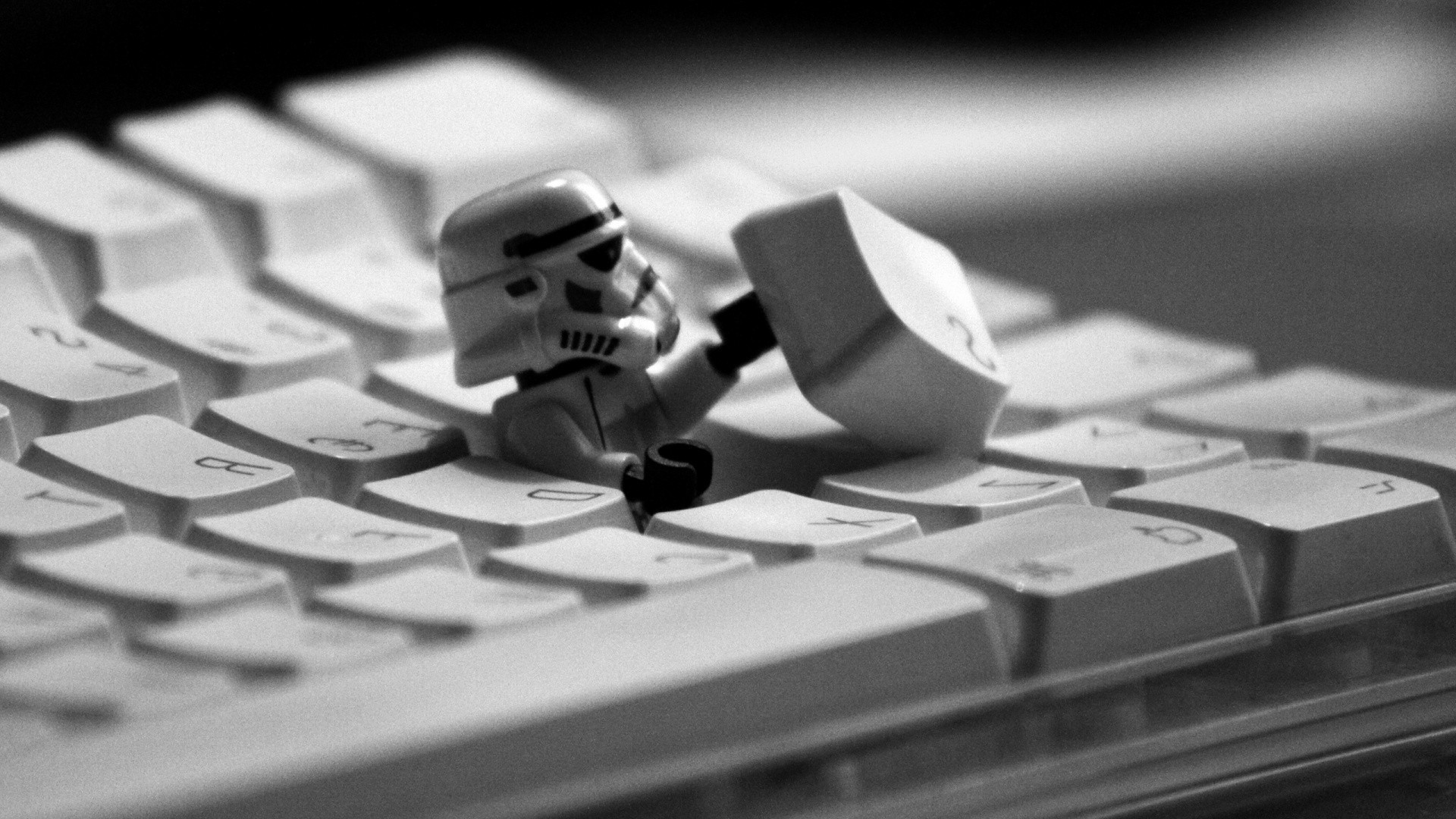 1920x1080 LEGO, Star Wars, Stormtrooper, Humor, White Wallpapers HD / Desktop and  Mobile Backgrounds