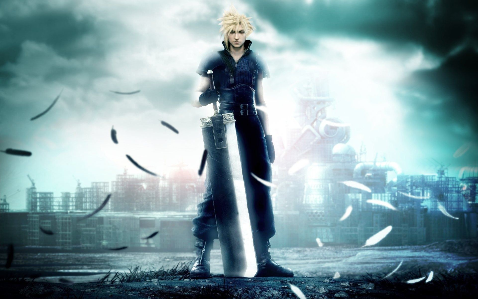 1920x1200 Download Final Fantasy Vii Anime Wallpaper 1600x1200 | Full HD