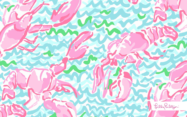 Monogram Lilly Pulitzer Desktop Wallpaper (38+ images)