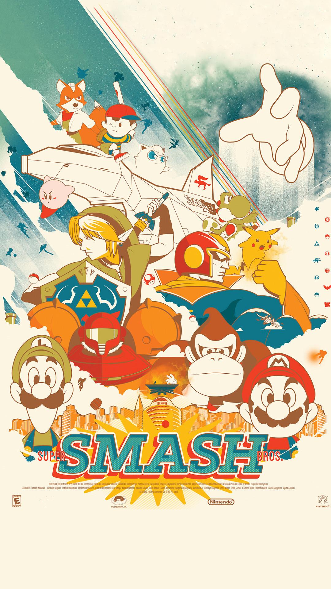 Super Smash Bros Wallpaper Iphone 75 Images