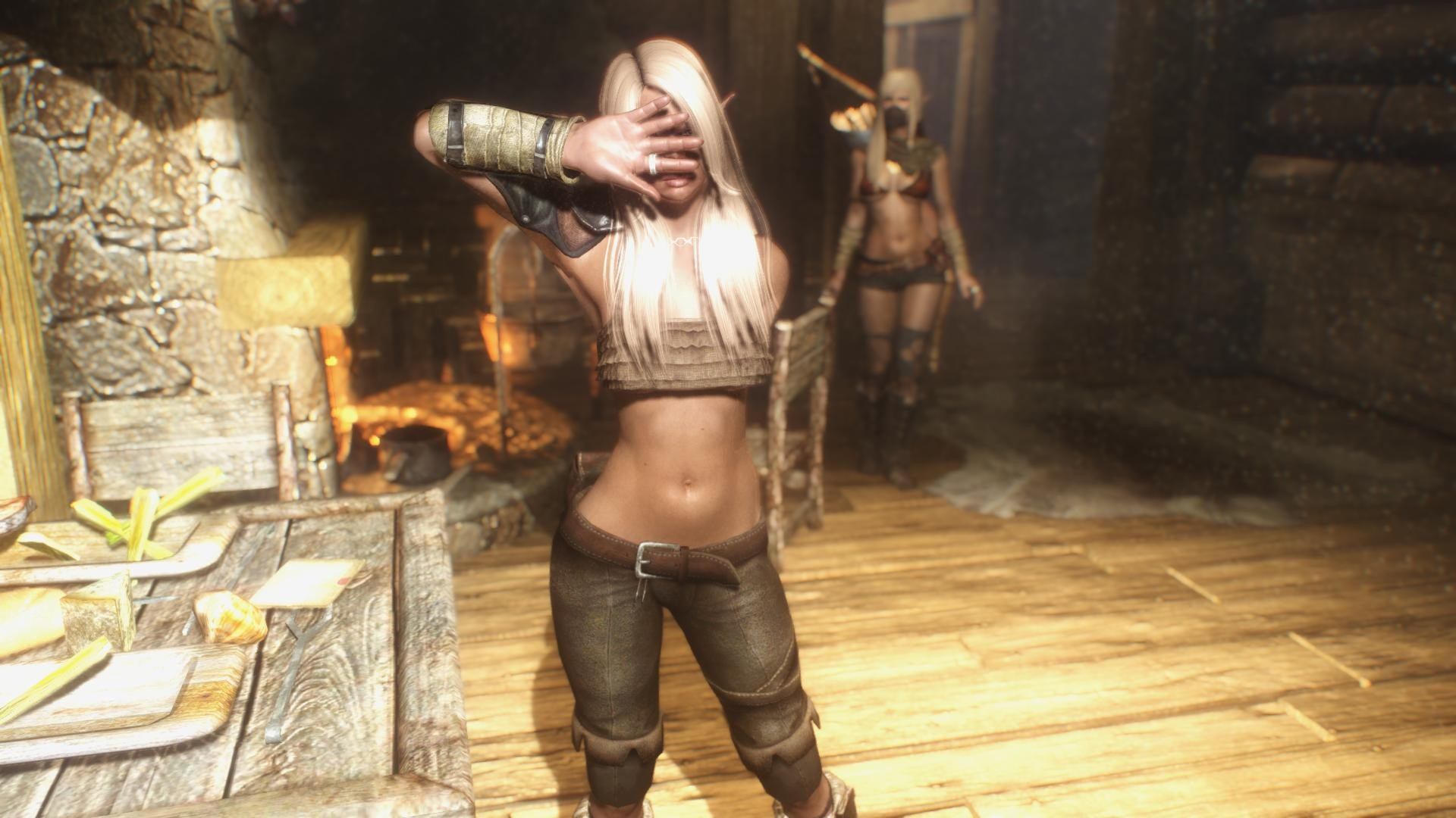 1920x1080 The sexiest girl in Skyrim