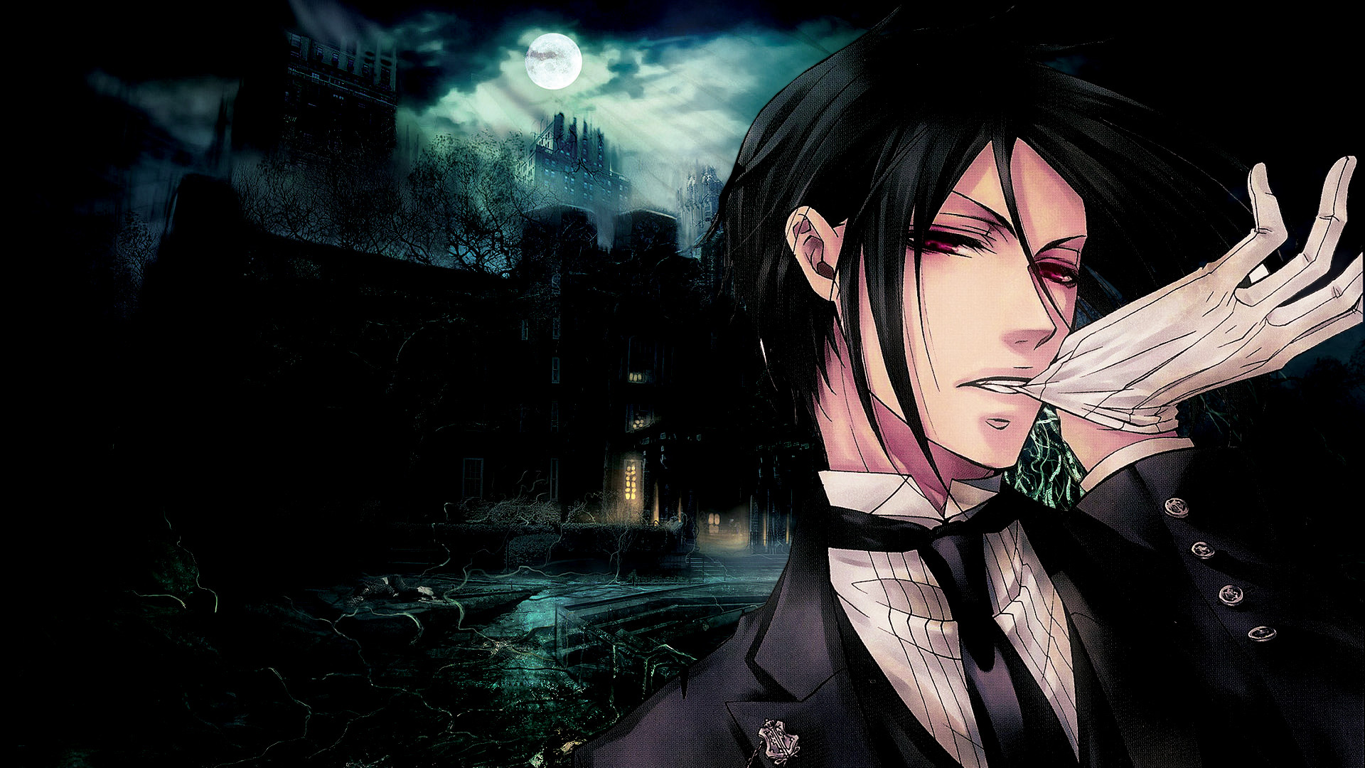 1920x1080 Black Butler Sebastian Michaelis Wallpapers HD Download