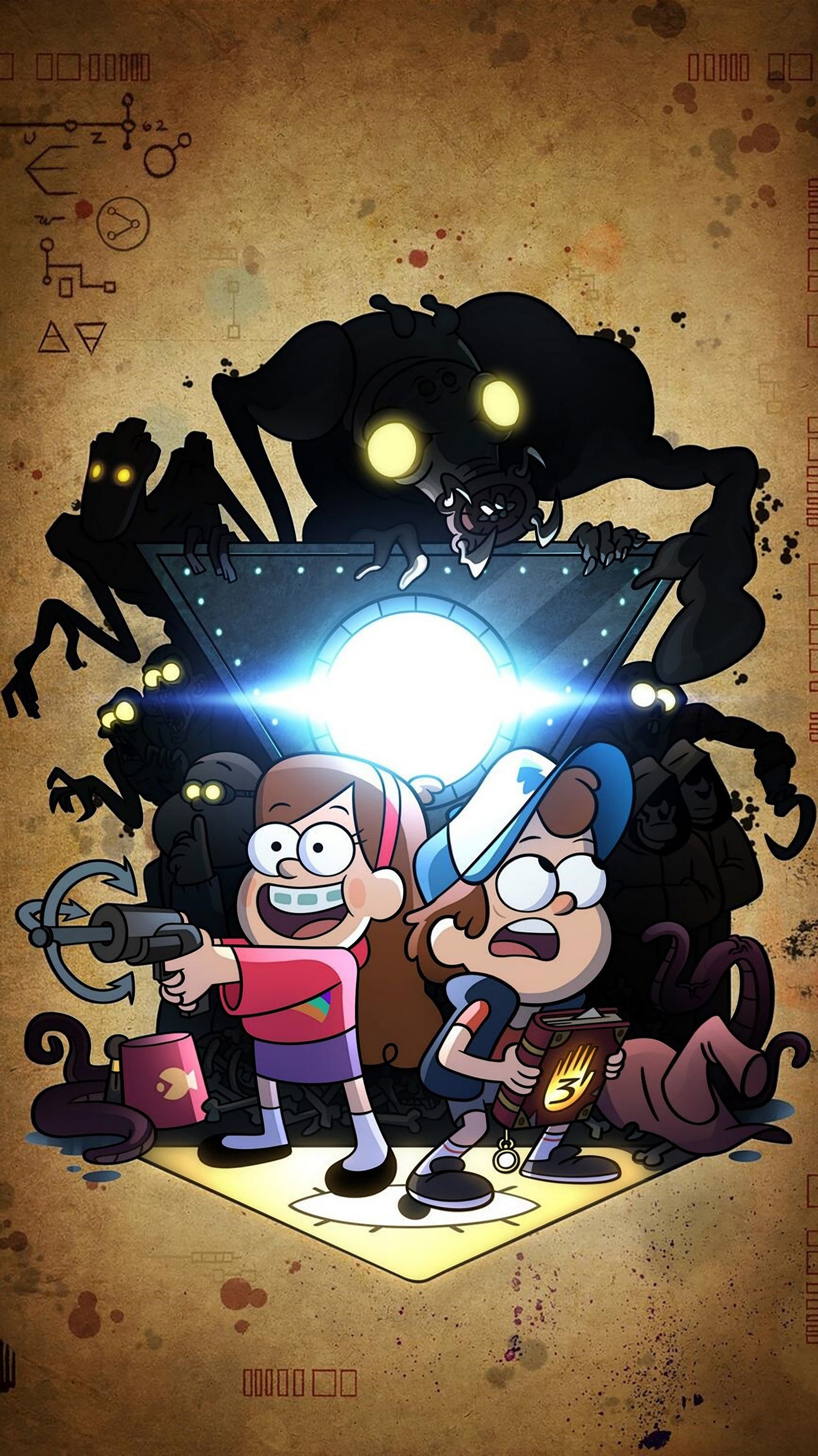 1536x2733 Movie Wallpapers, Gravity Falls, Tv Shows, Gravity Falls Bill, Tv Series