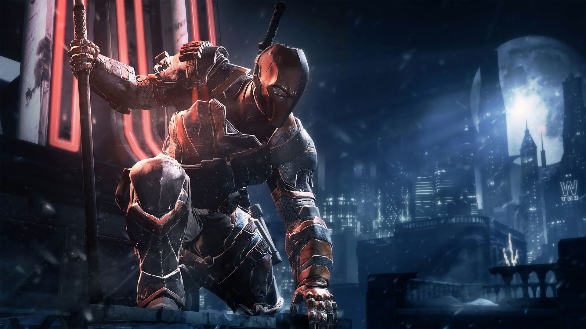 1920x1080 Deathstroke Batman Arkham Origins | HD Games Wallpaper Free Download ...