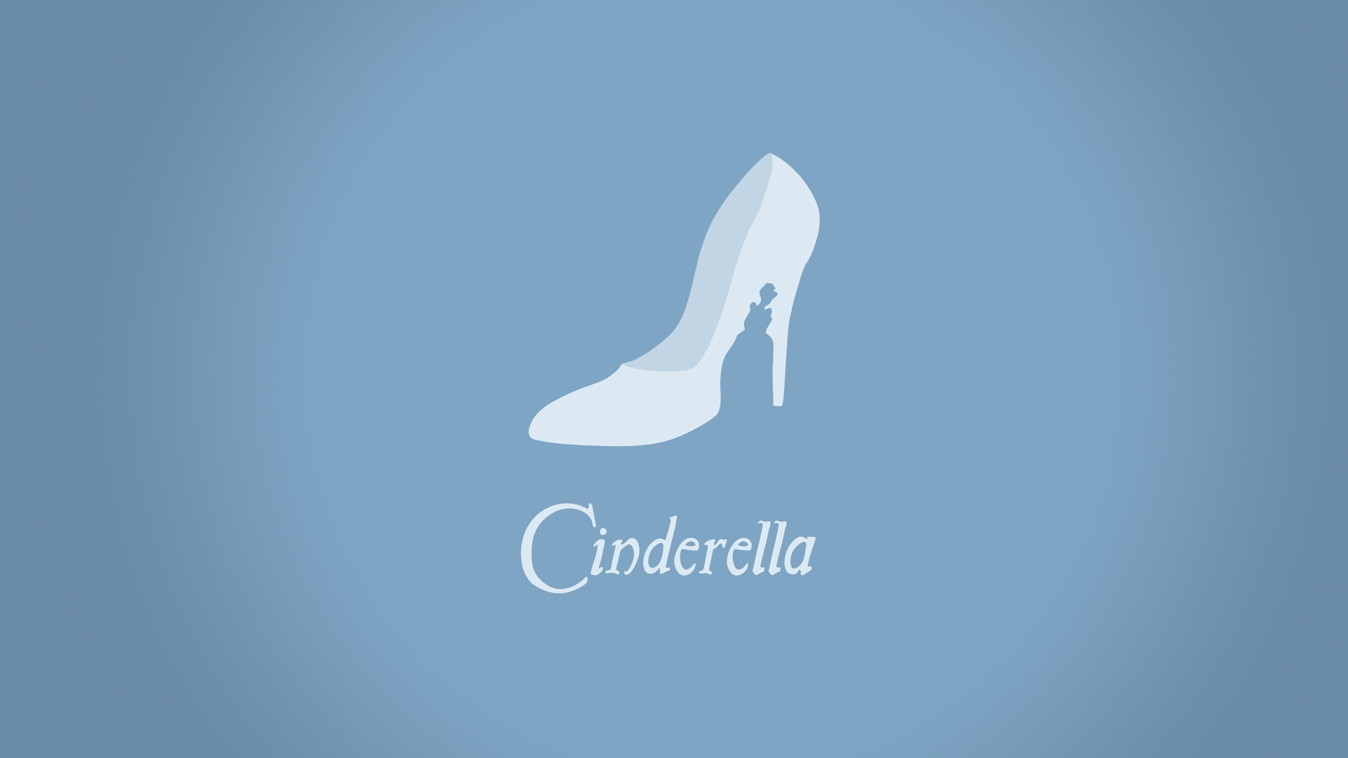 1920x1080 Minimalistic Cinderella hd wallpaper background