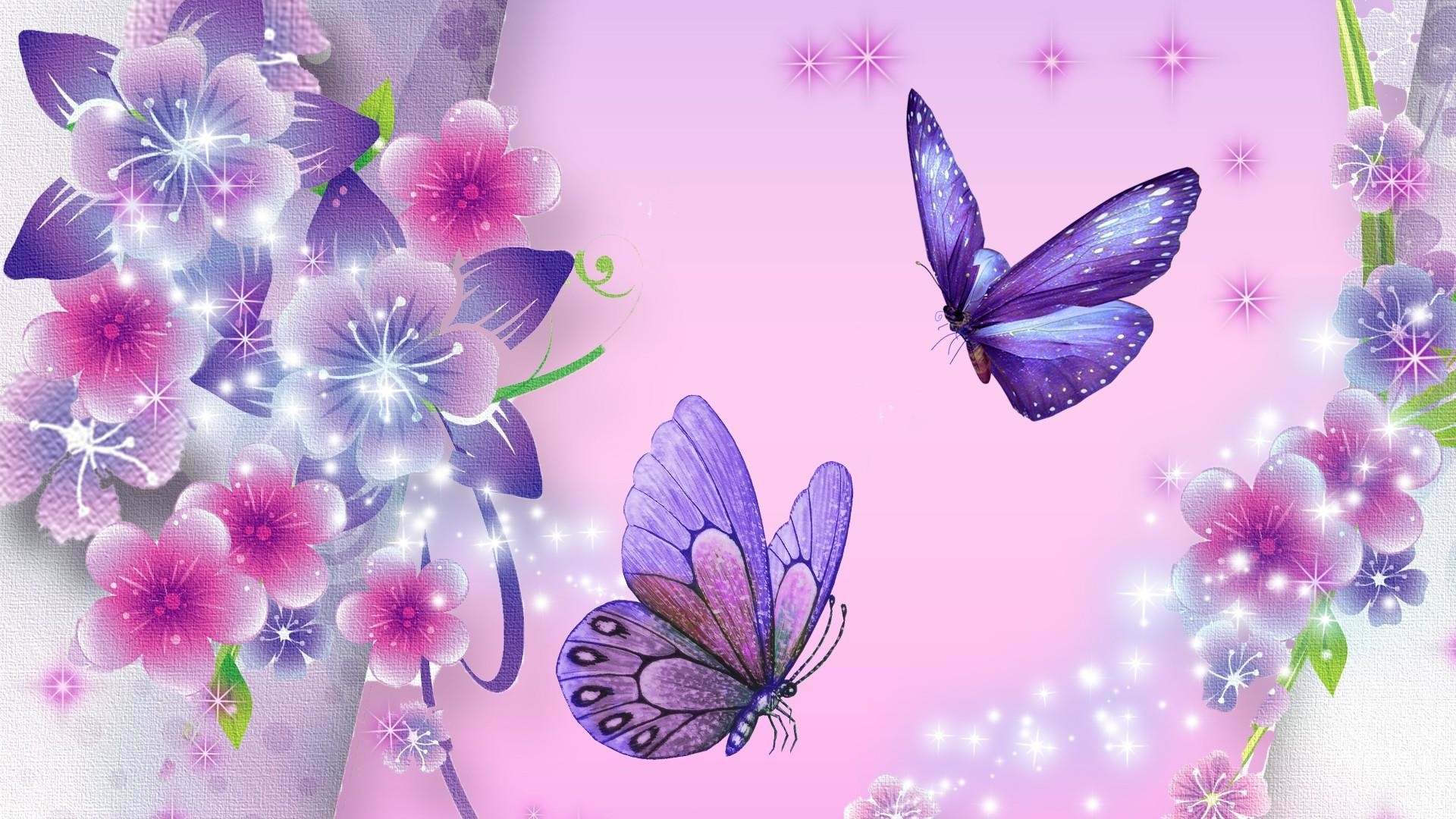 1920x1080 flowers & butterflies wallpaper - Google Search