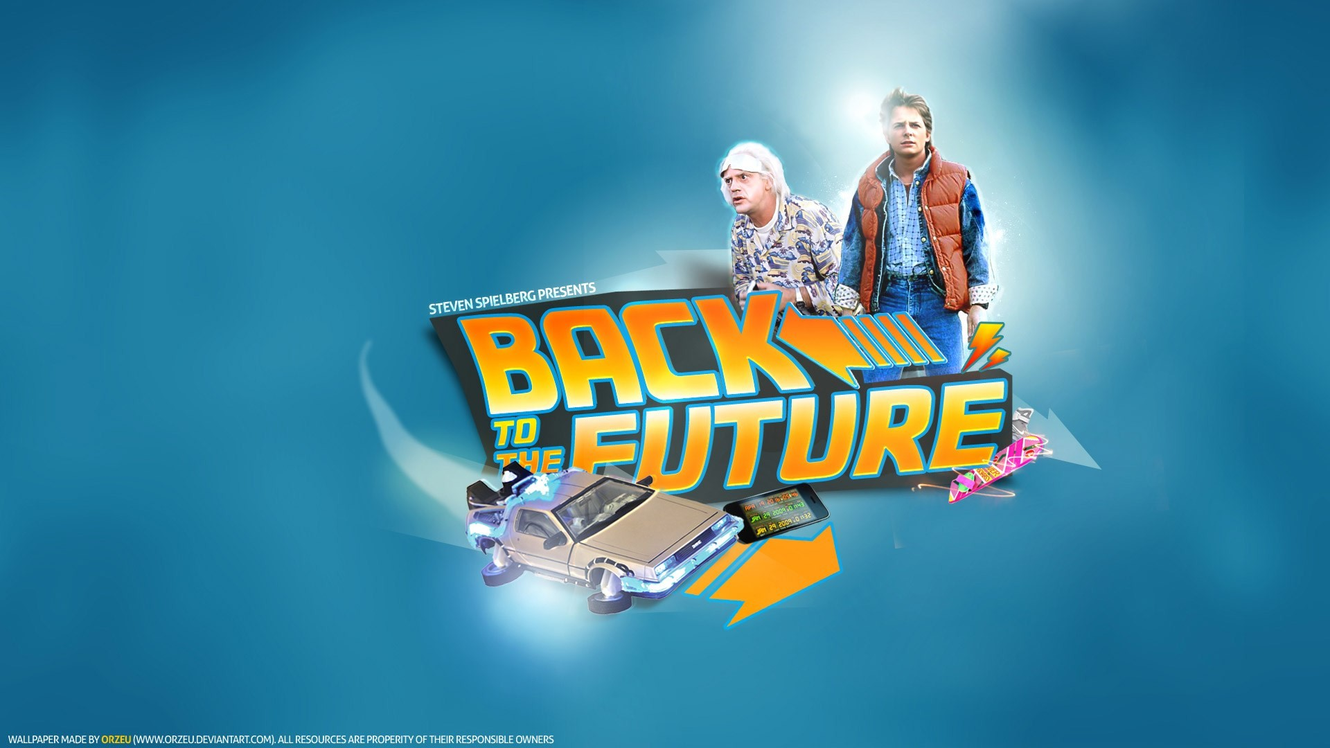 1920x1080 back to the future computer wallpaper backgrounds - back to the future  category
