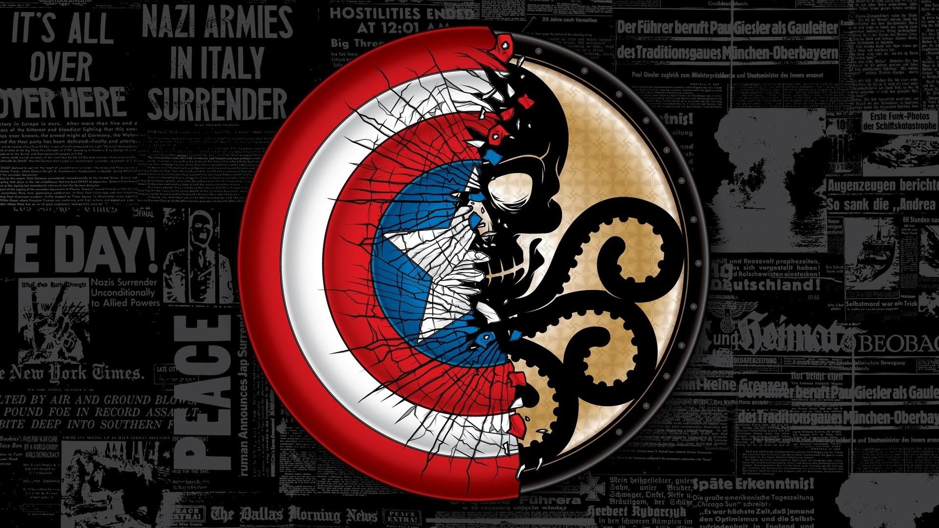 Marvel Shield Logo Wallpaper (77+ images)
