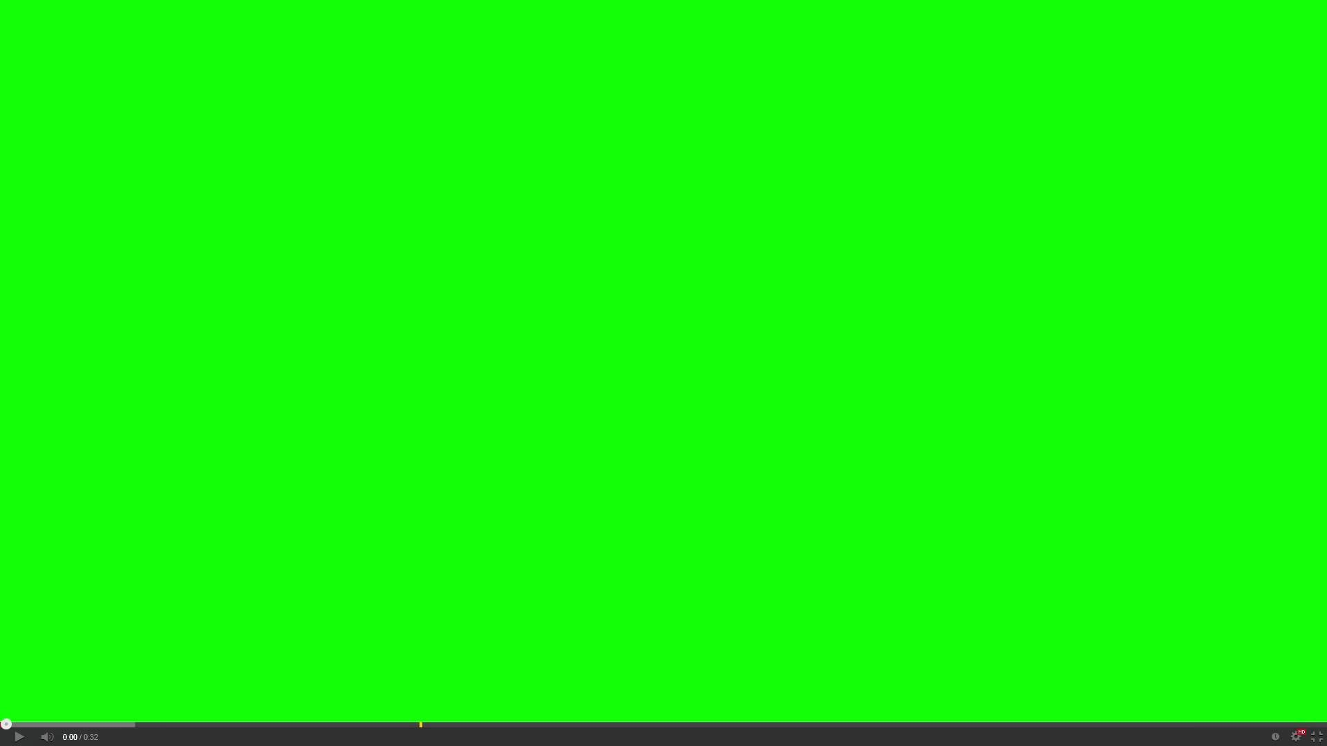 1920x1080 Youtube video player green screen background - FreeHDGreenscreen Footage
