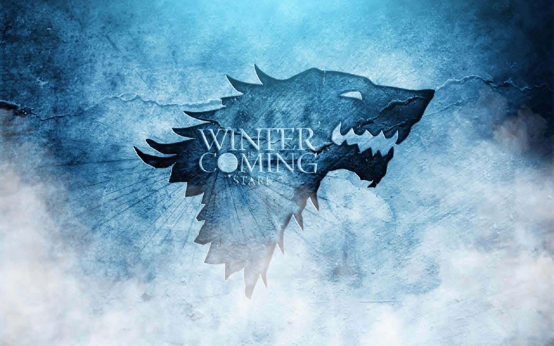 "1920x1200 A thematic wallpaper of the sigils of House Stark from ""Game of Thrones"".  Game of Thrones: House Stark"
