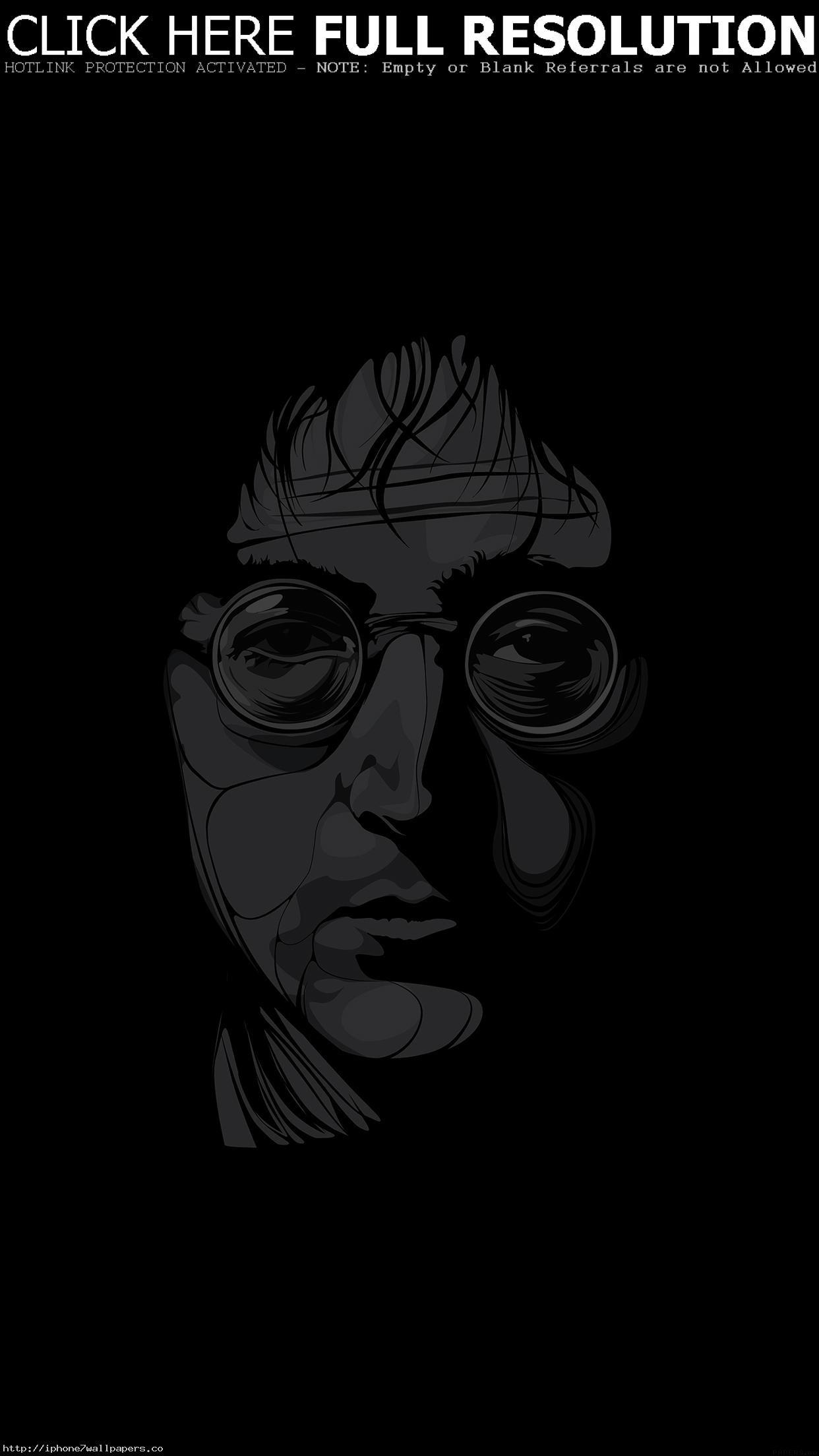 1242x2208 John Lennon Il Art Music Android Wallpaper Hd Wallpapers