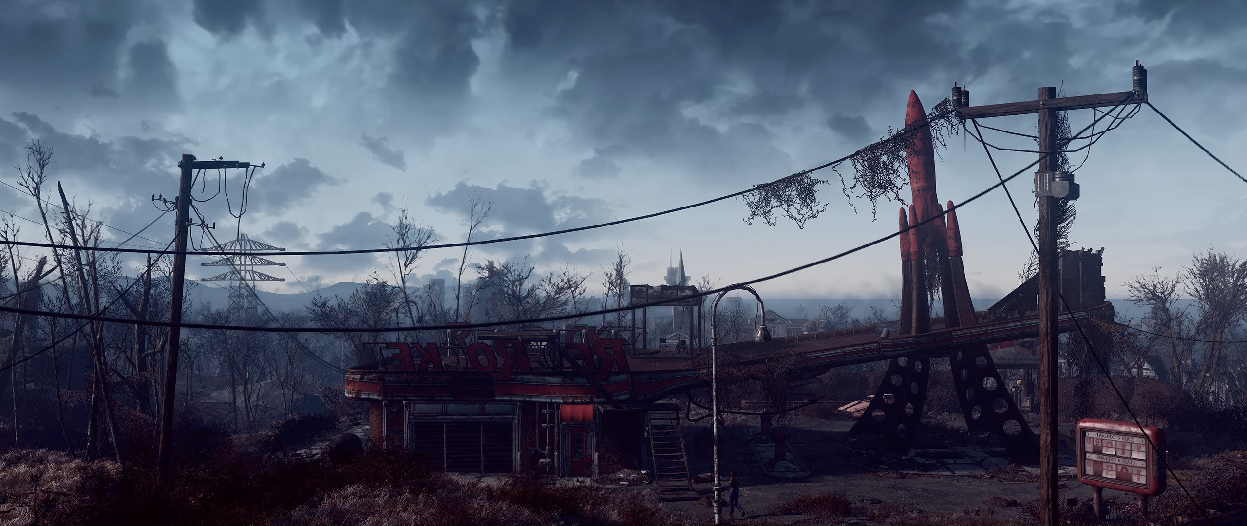 2560x1080 Fallout 4, Artwork, Video Games, Fallout Wallpapers HD / Desktop and Mobile  Backgrounds